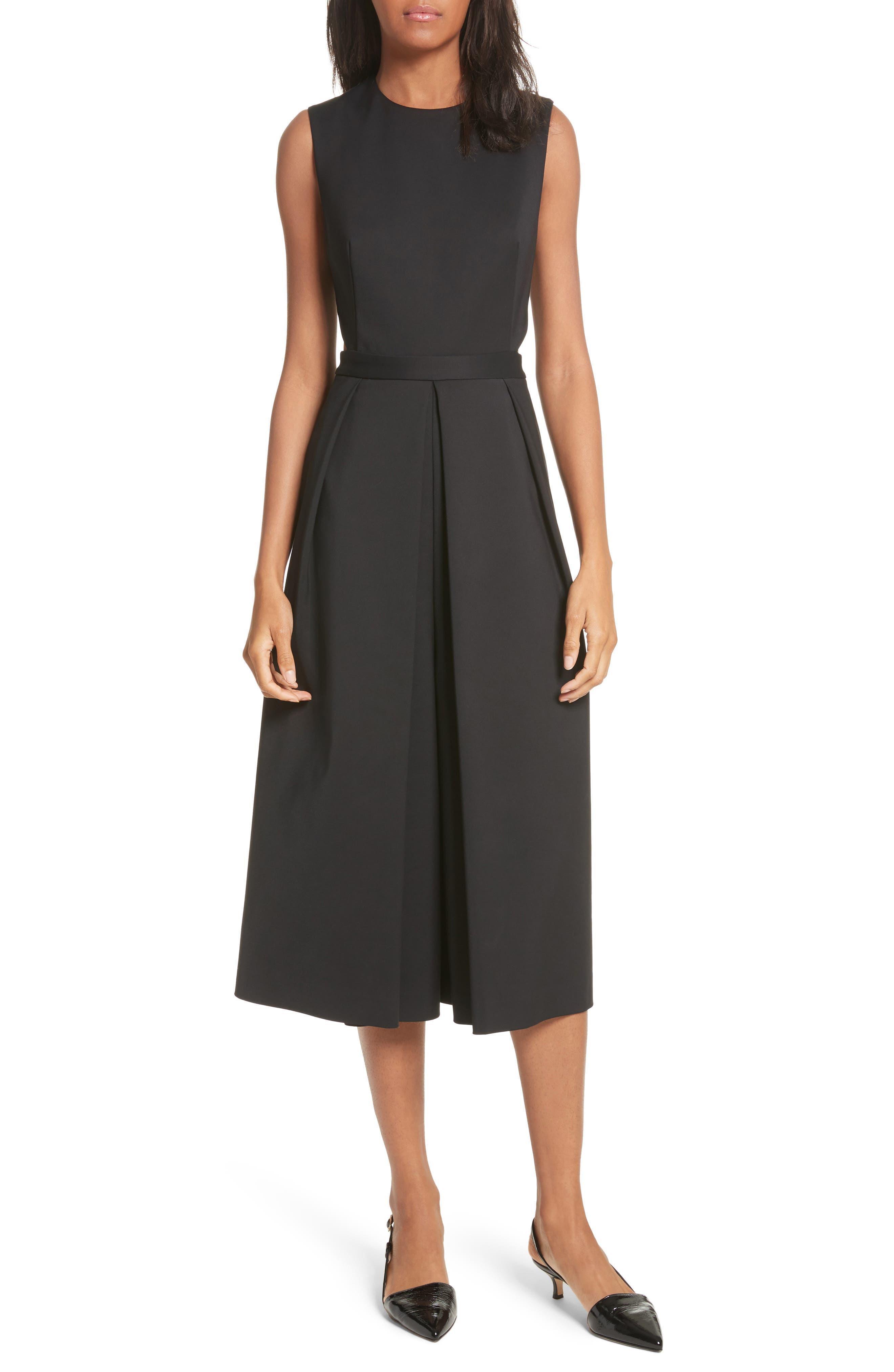 Side Cutout Jumpsuit,                         Main,                         color, Black