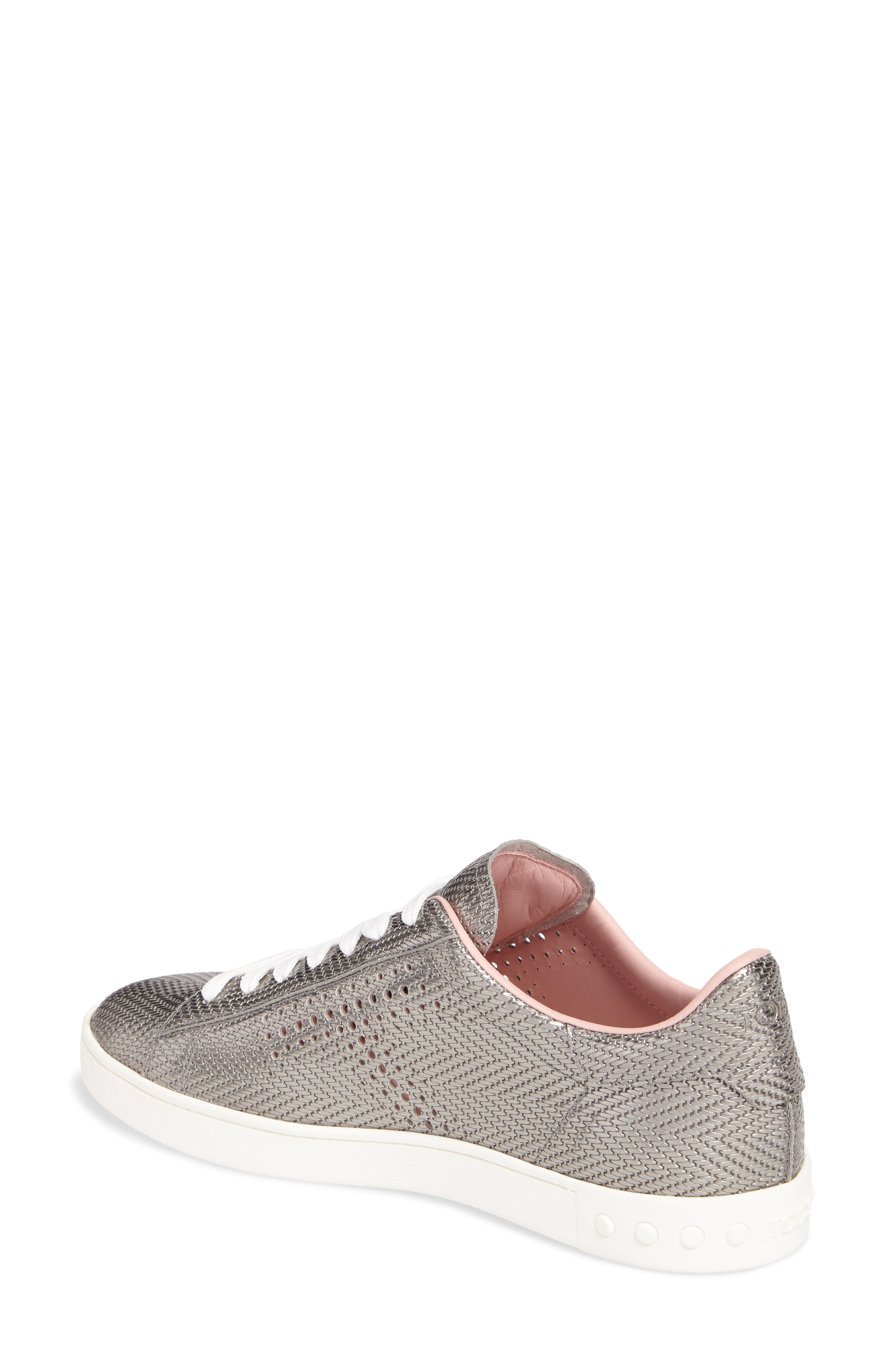 Alternate Image 2  - Tod's Perforated T Sneaker (Women)