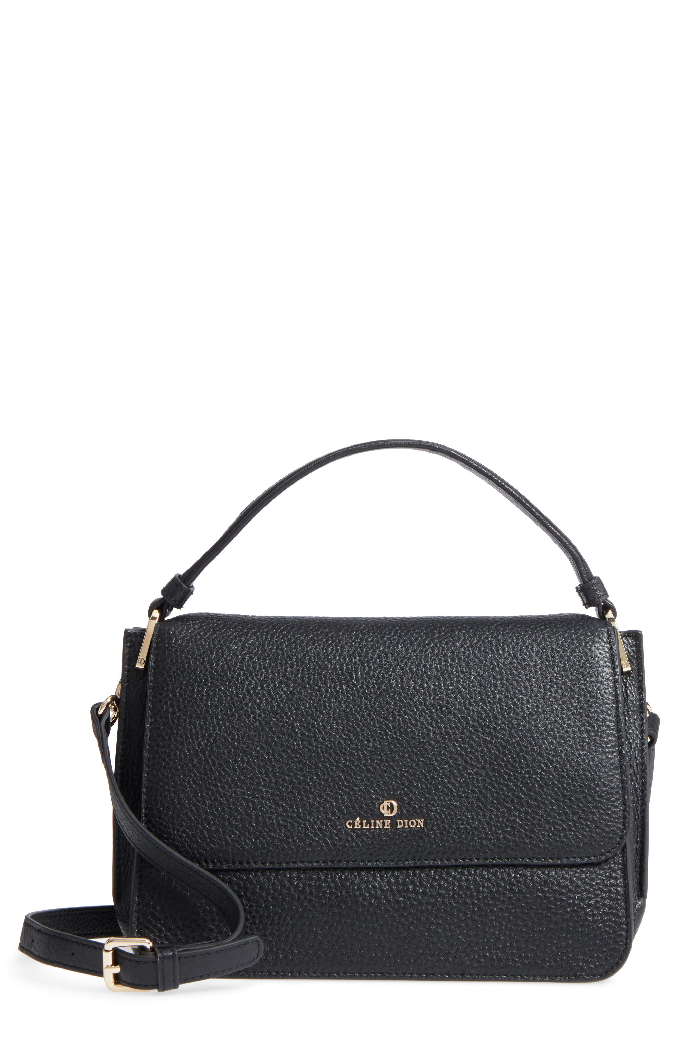 Céline Dion Adagio Leather Satchel