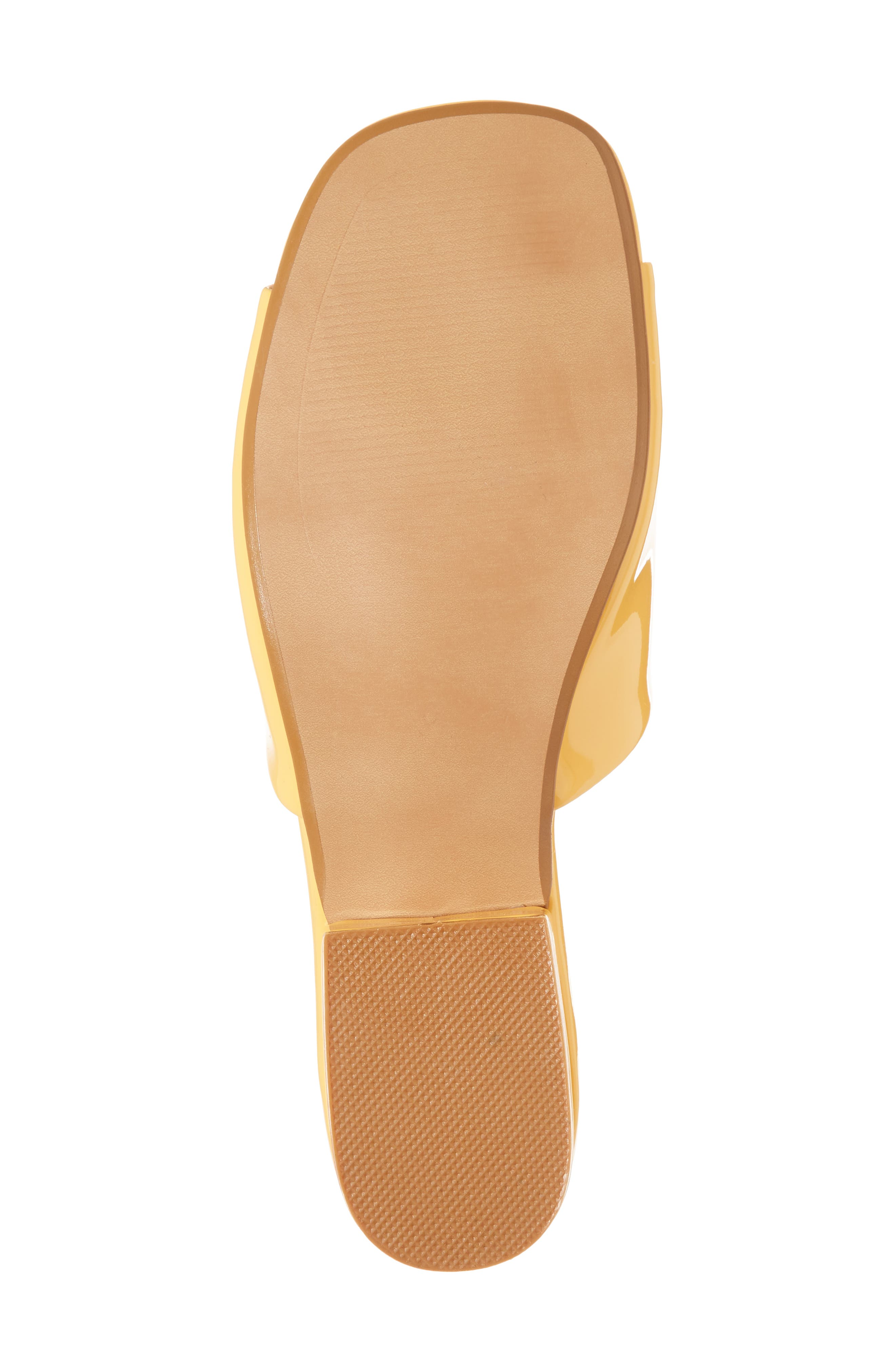 Plantain Slide Sandal,                             Alternate thumbnail 6, color,                             Mango