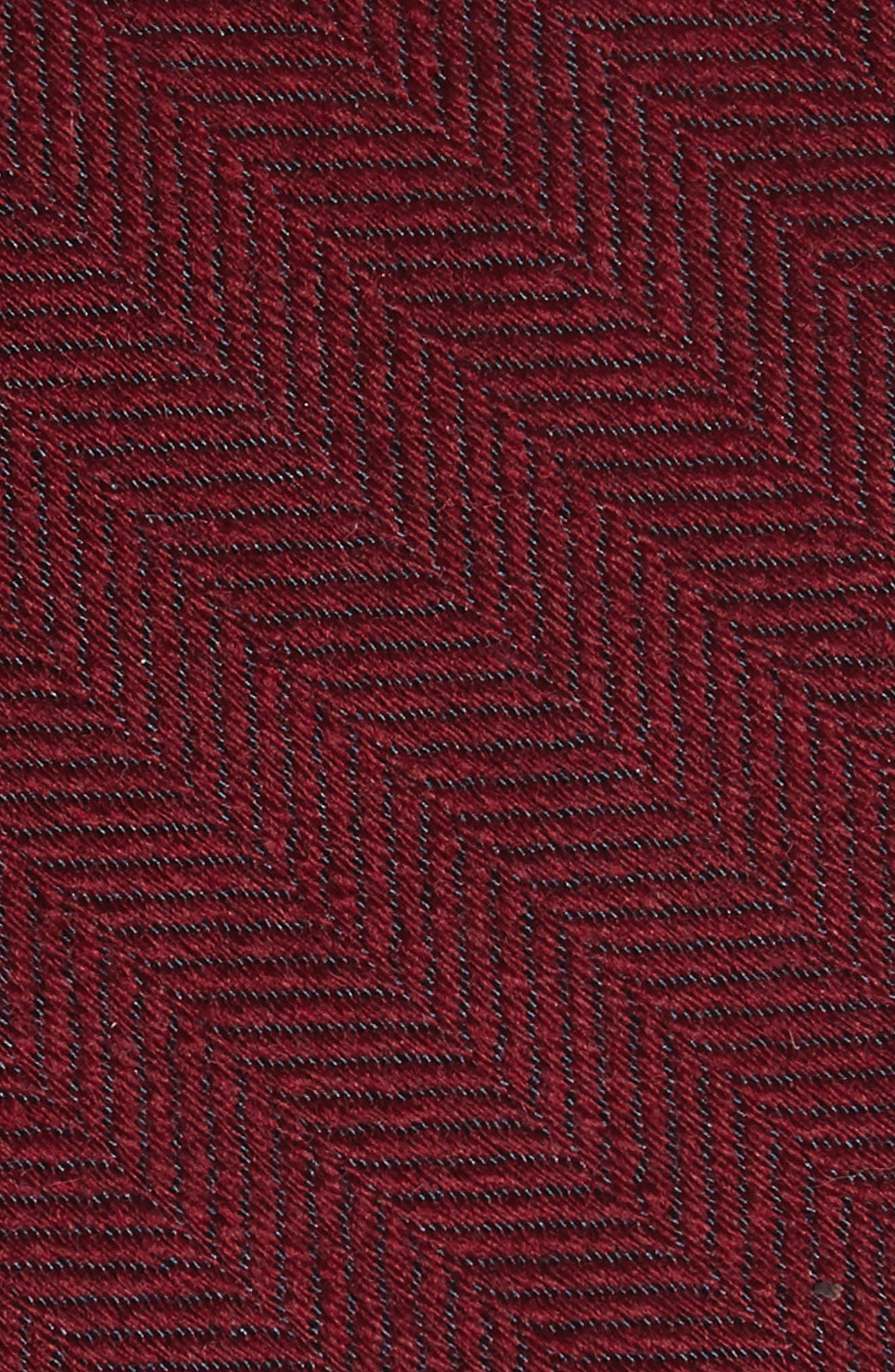 Alternate Image 2  - Michael Bastian Herringbone Wool & Silk Tie