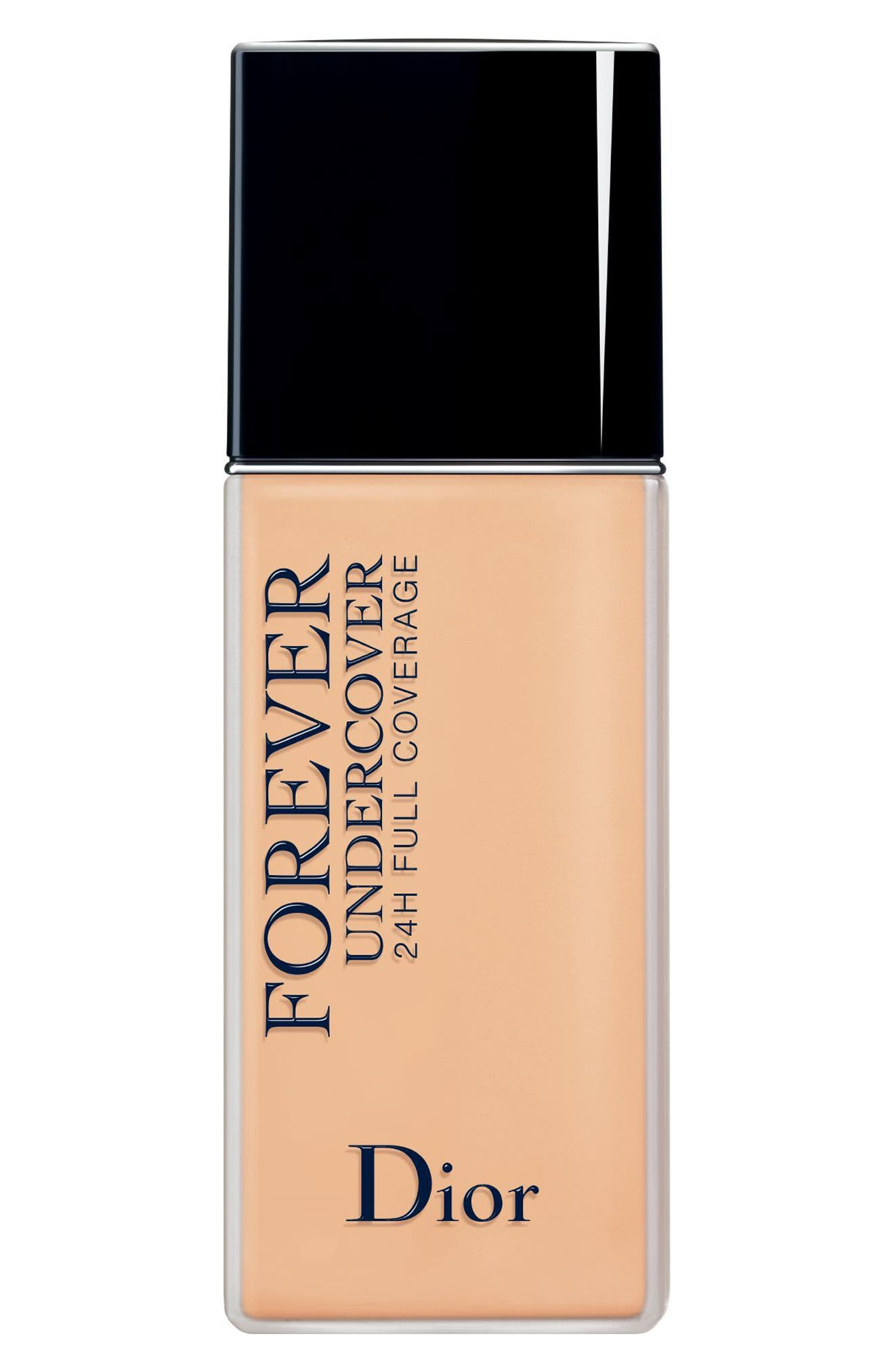 Diorskin Forever Undercover 24-Hour Full Coverage Water-Based Foundation,                             Main thumbnail 1, color,                             031 Sand