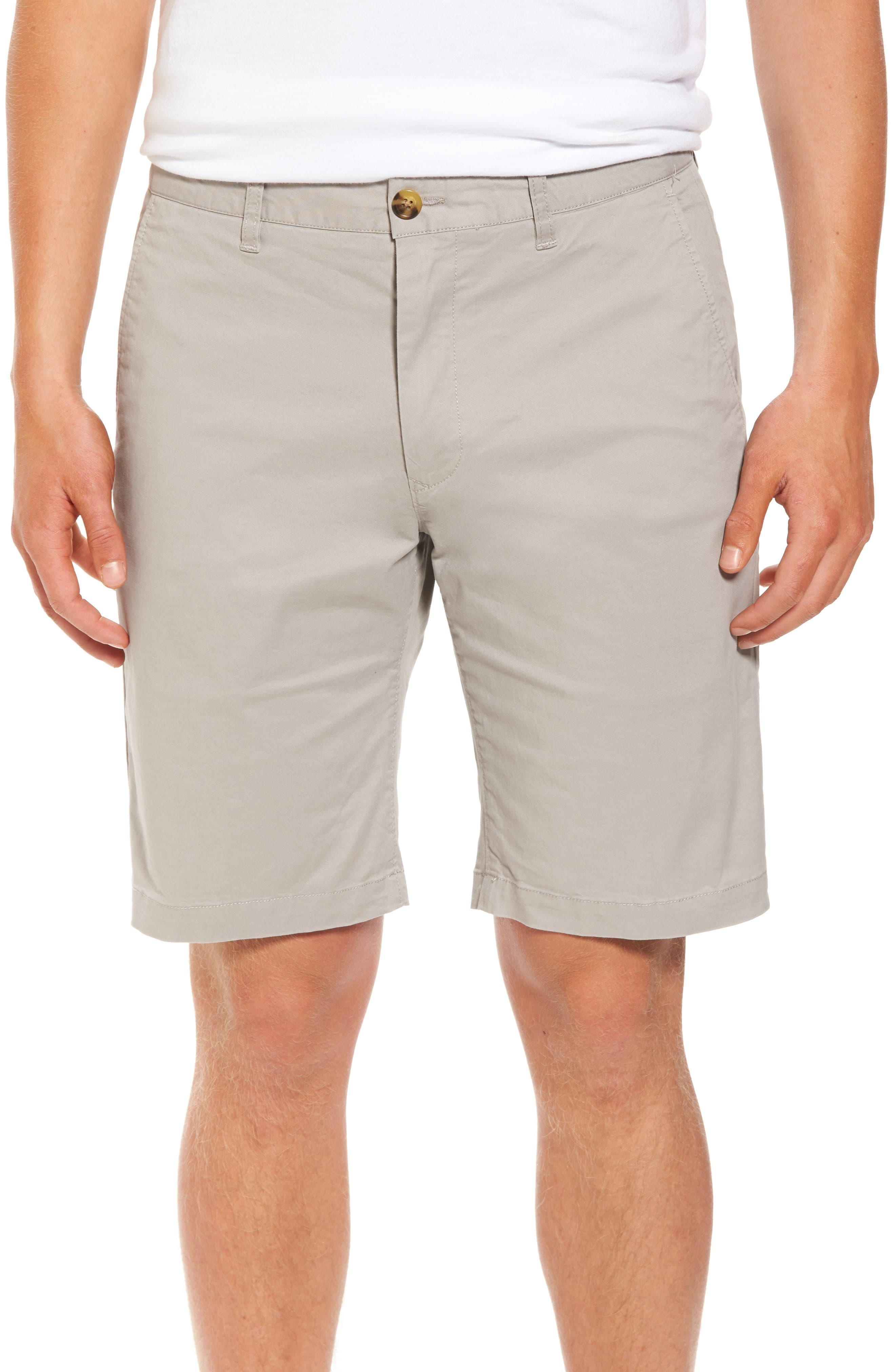 Alternate Image 1 Selected - 7 Diamonds Slim Fit Brushed Twill Shorts