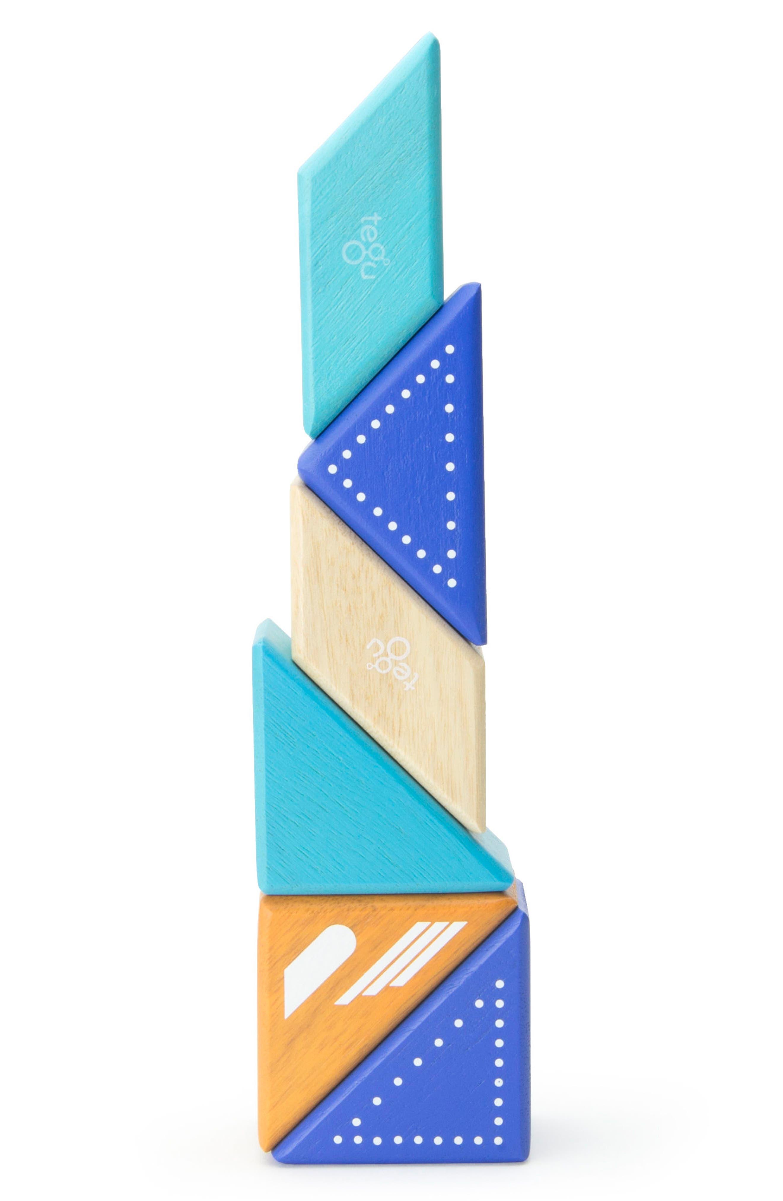 Travel Pals 6-Piece Jet Magnetic Block Set,                             Alternate thumbnail 8, color,                             Blue