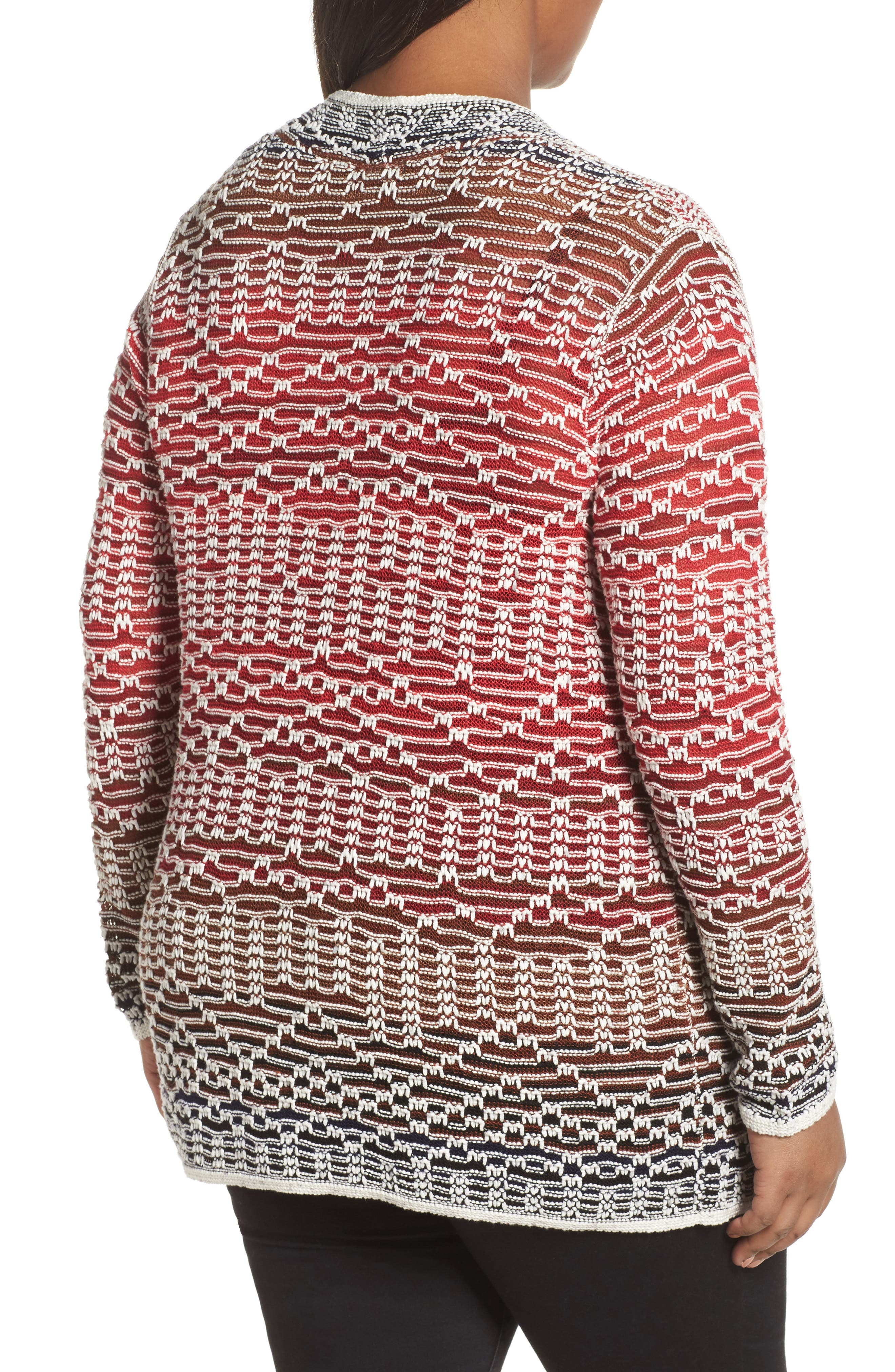 Alternate Image 2  - NIC+ZOE Fireside Cardigan (Plus Size)