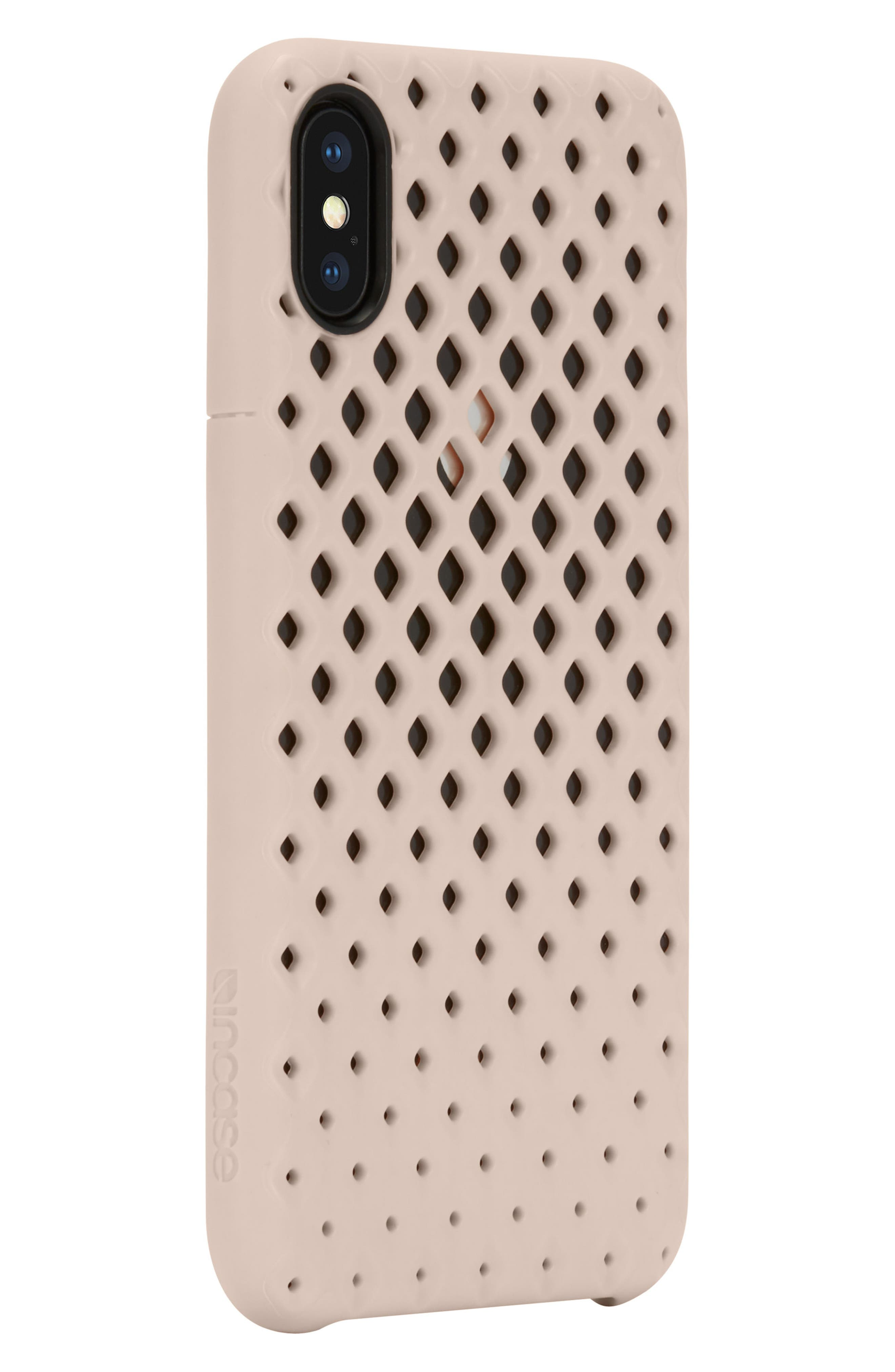 Lite iPhone iPhone X Case,                             Alternate thumbnail 2, color,                             Rose Gold