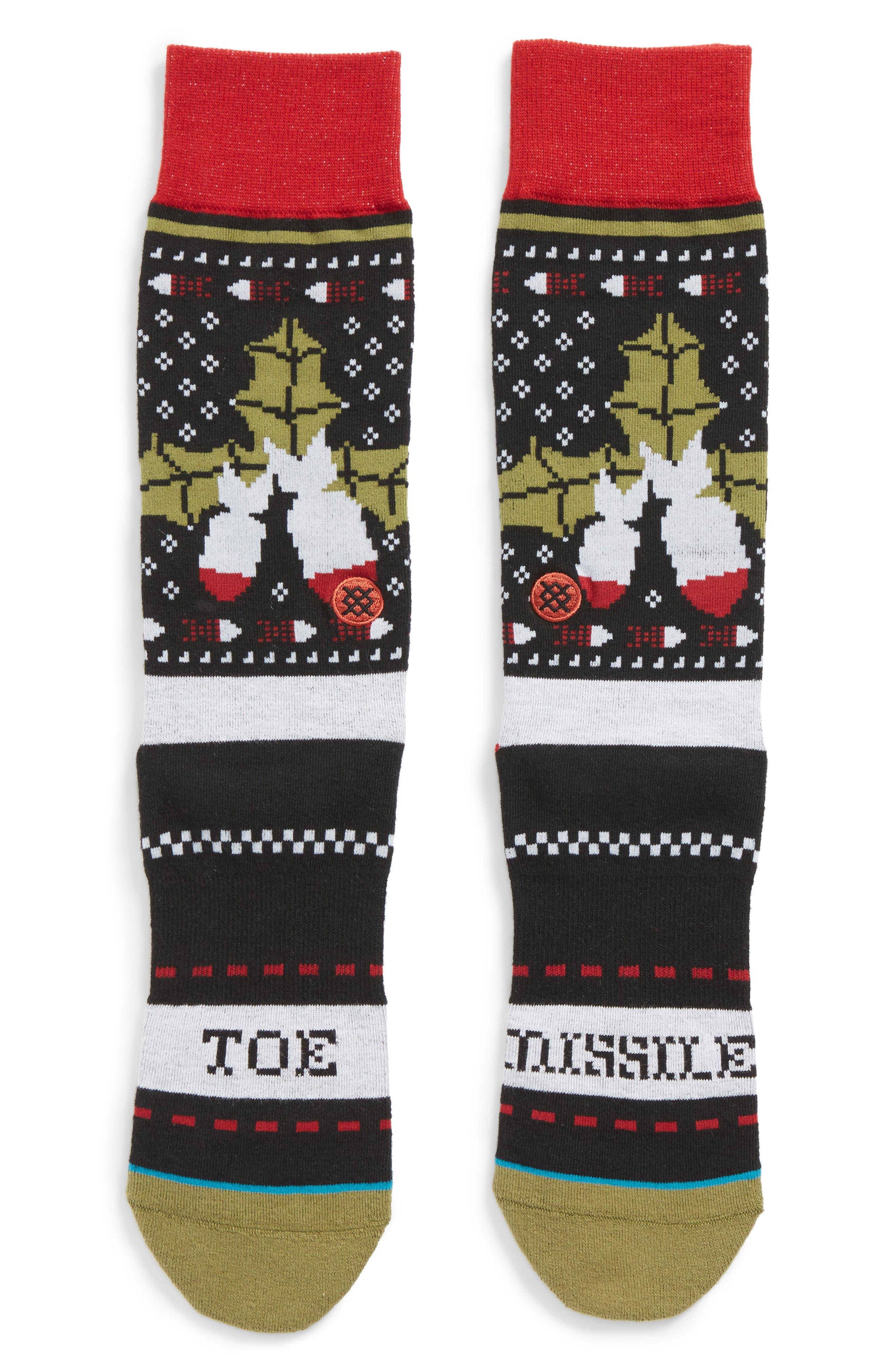 Stance Missile Toe 2 Socks