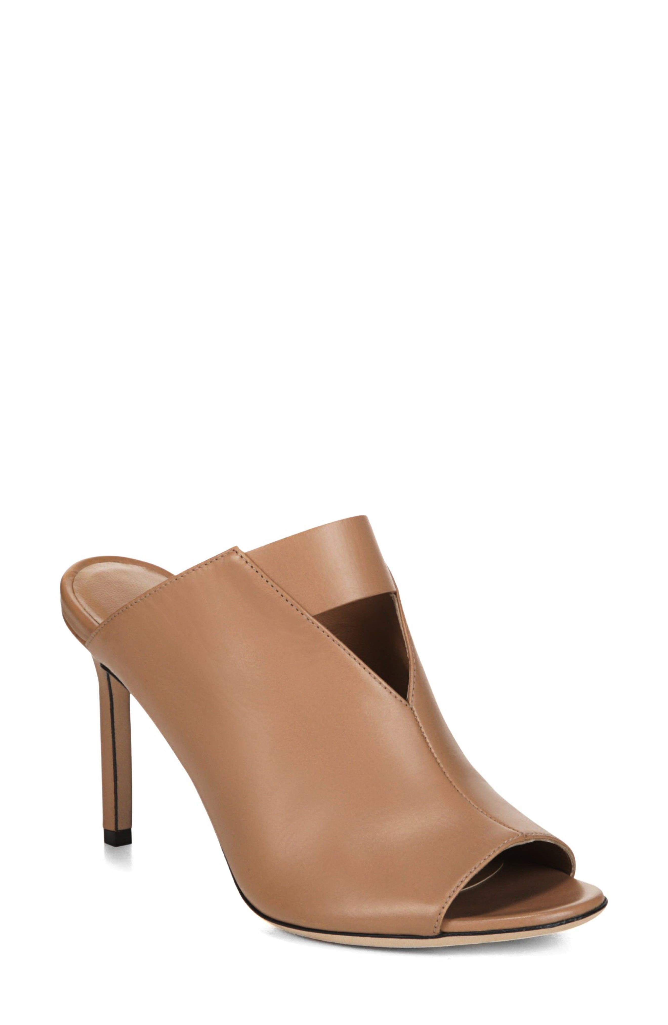 Mira Sandal,                         Main,                         color, Desert Leather