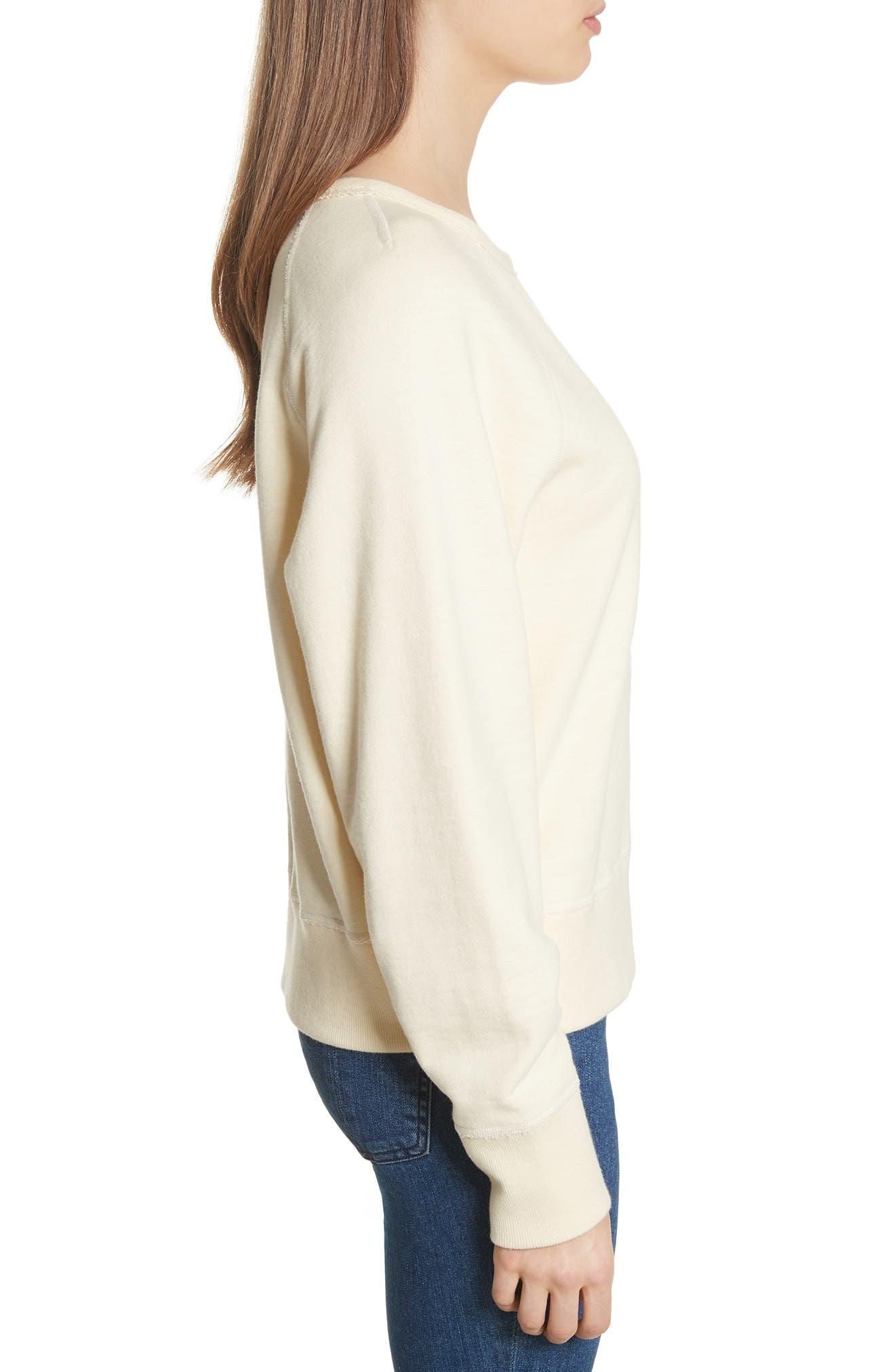 Alternate Image 3  - rag & bone/JEAN The Raglan Sweatshirt