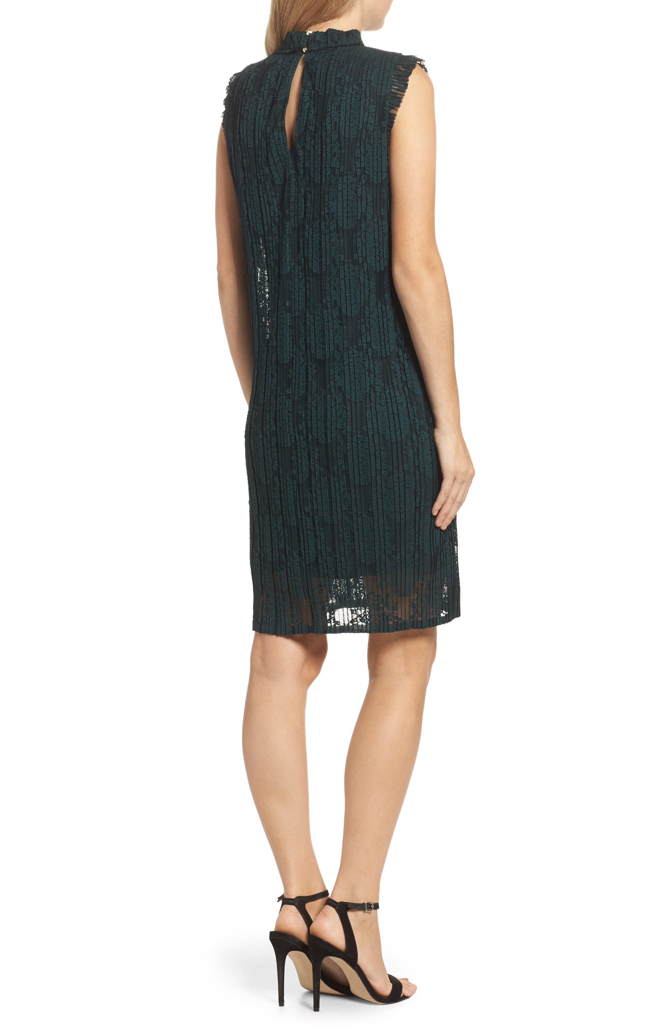 Alternate Image 2  - Julia Jordan Sleeveless Shift Dress