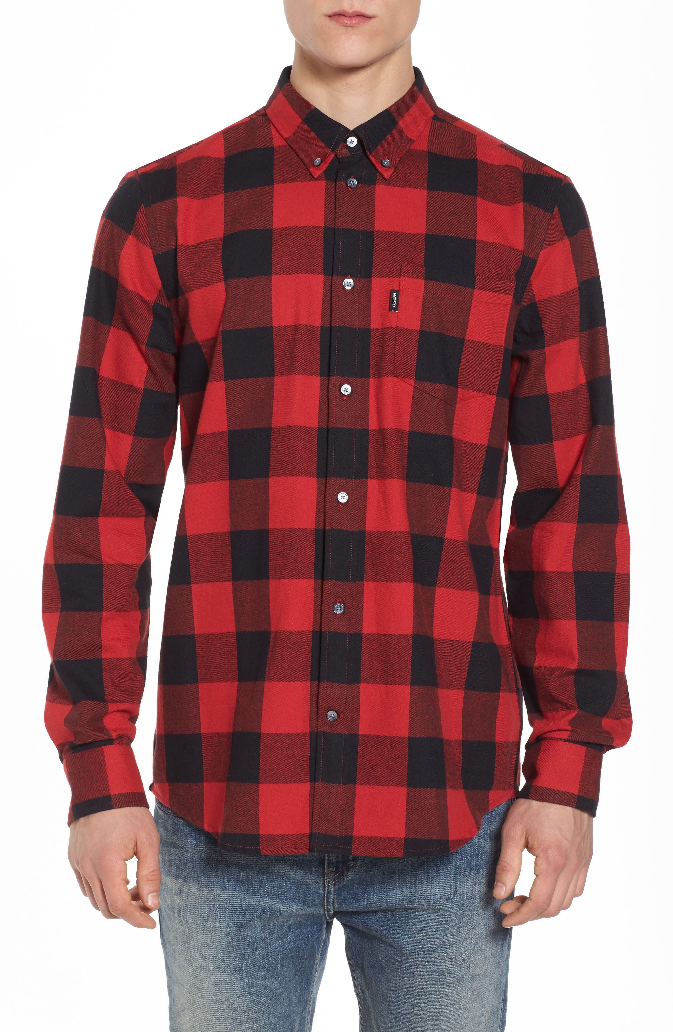 WeSC Olavi Check Flannel Shirt