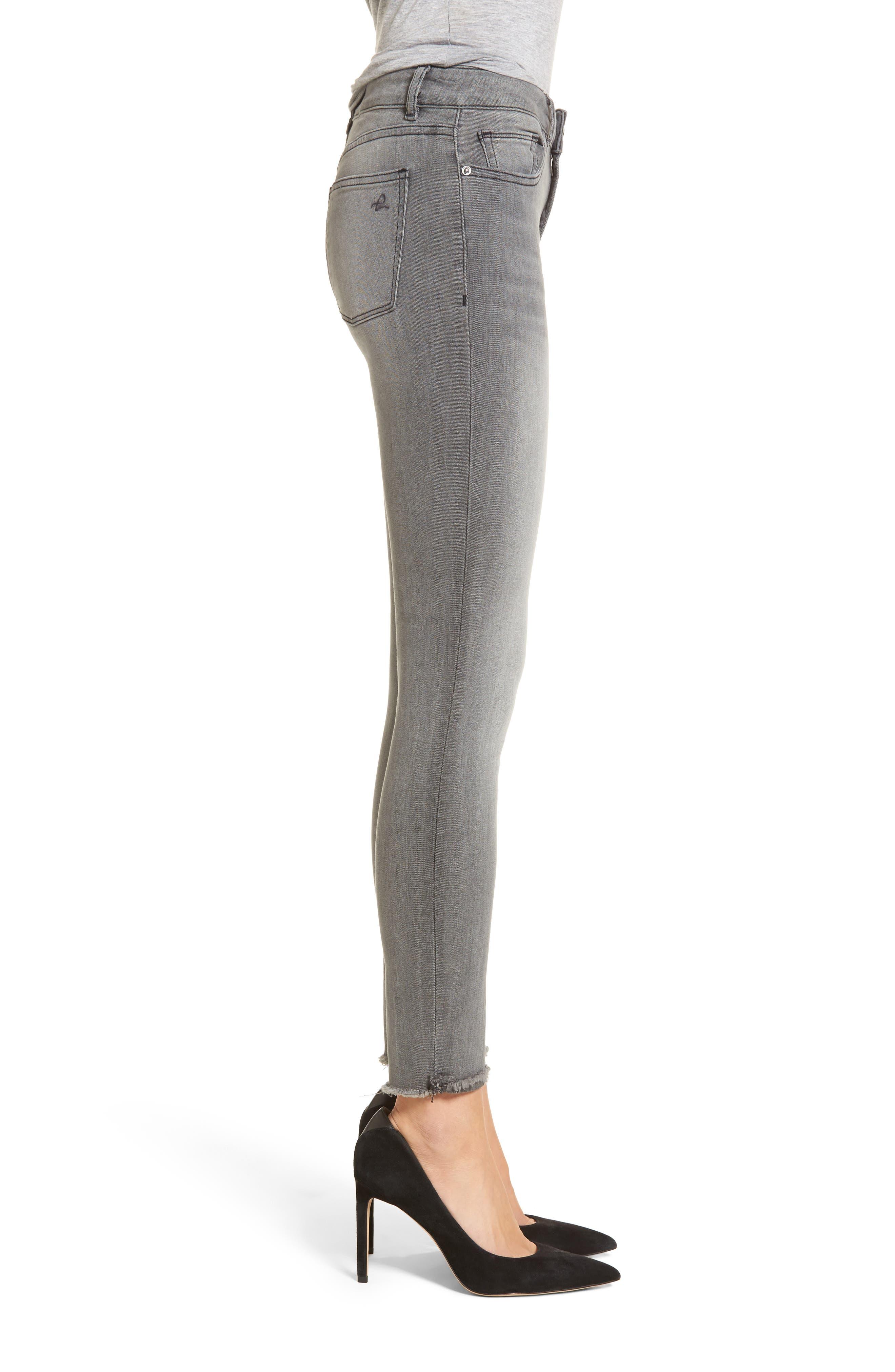 Emma Power Legging Jeans,                             Alternate thumbnail 3, color,                             Tarrant