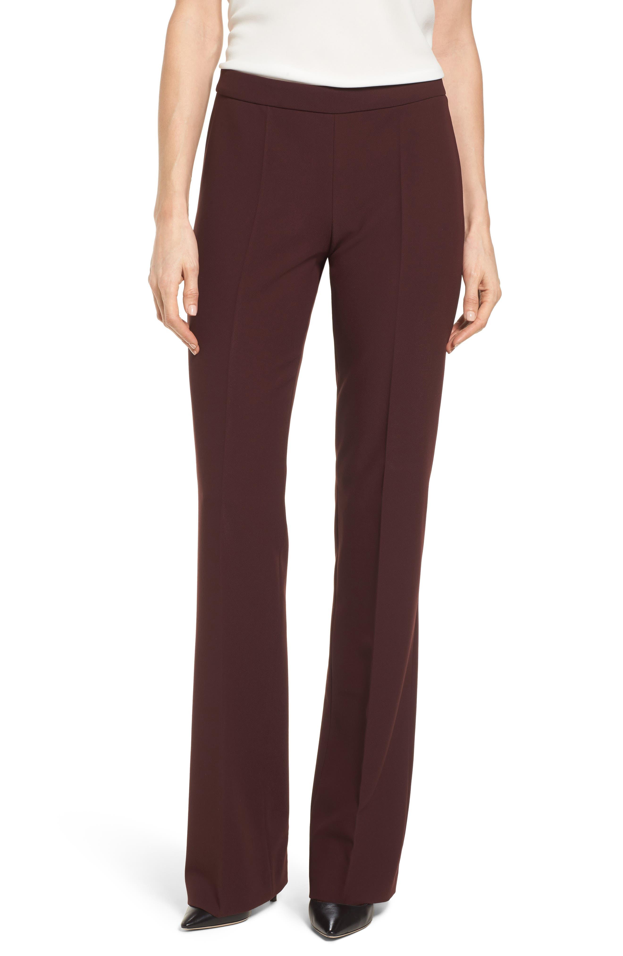Main Image - BOSS Side Zip Suit Trousers