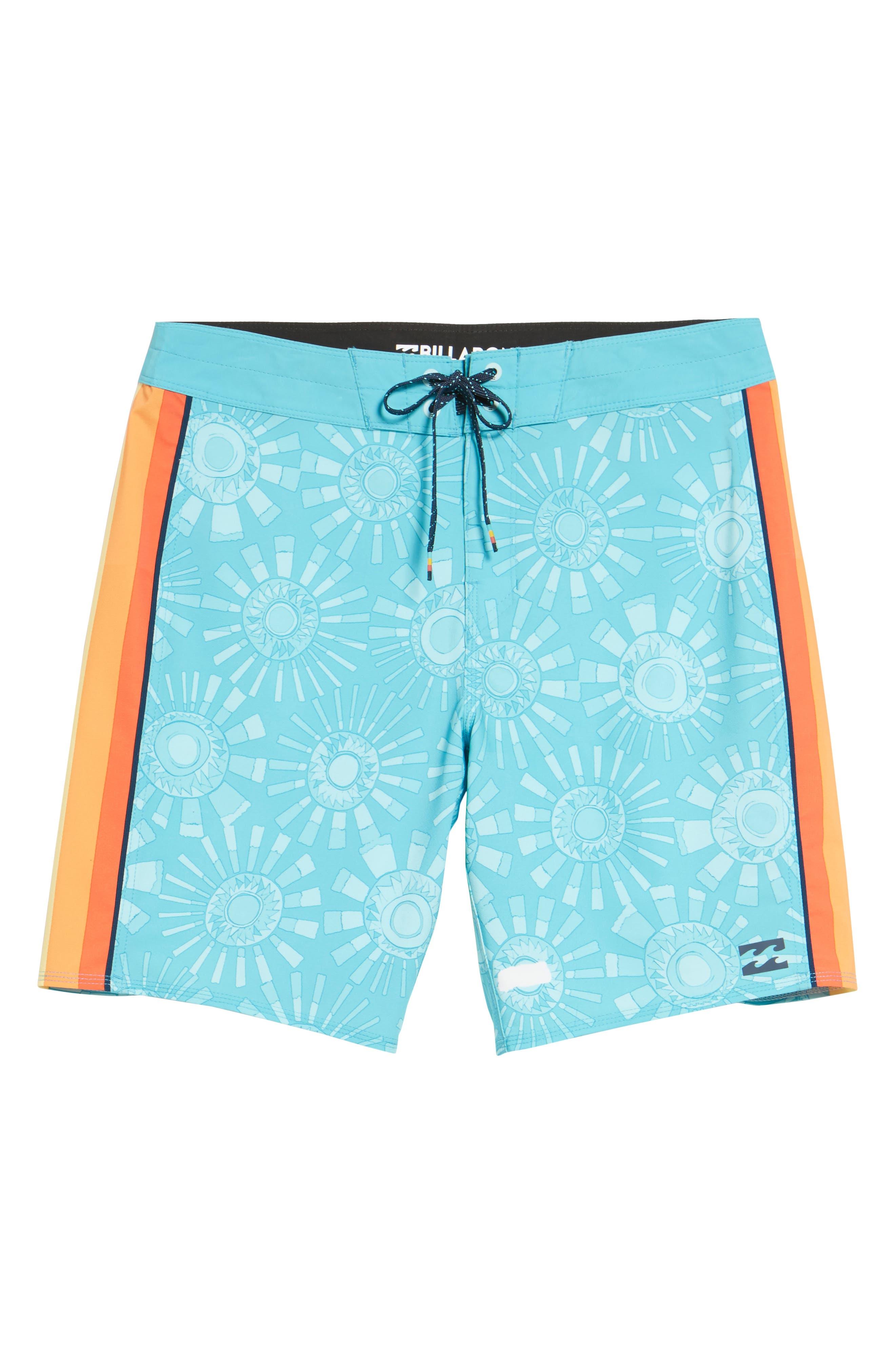 D Bah Airlite Board Shorts,                             Alternate thumbnail 5, color,                             Mint