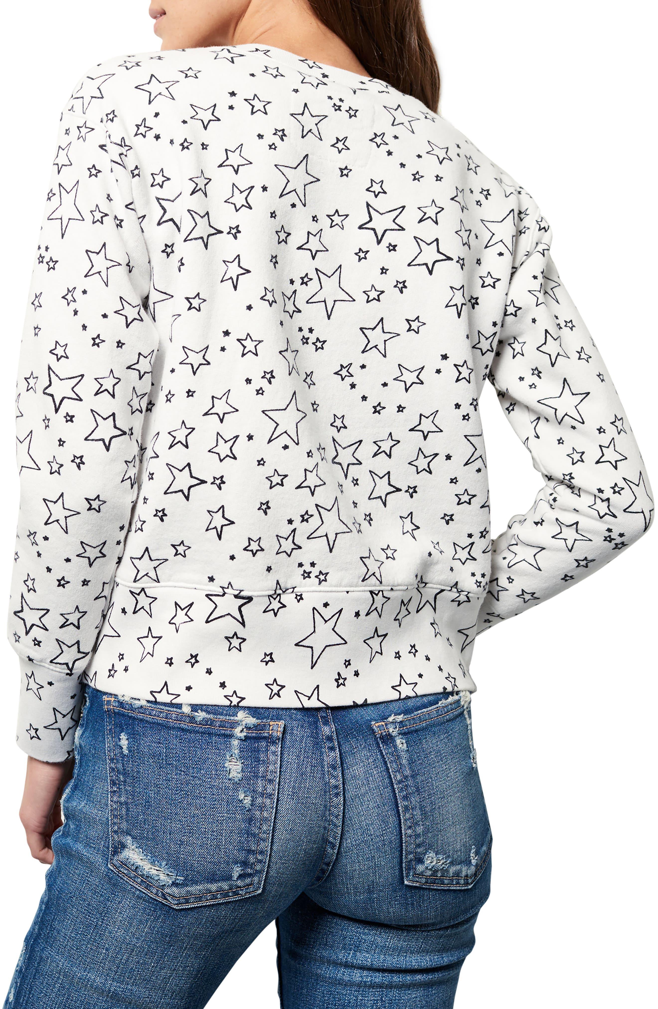 Frank & Eileen Star Sweatshirt,                             Alternate thumbnail 2, color,                             Lucky Star Day