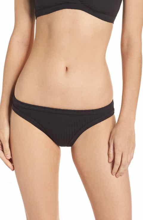 Seafolly Inka Ribbed Bikini Bottoms