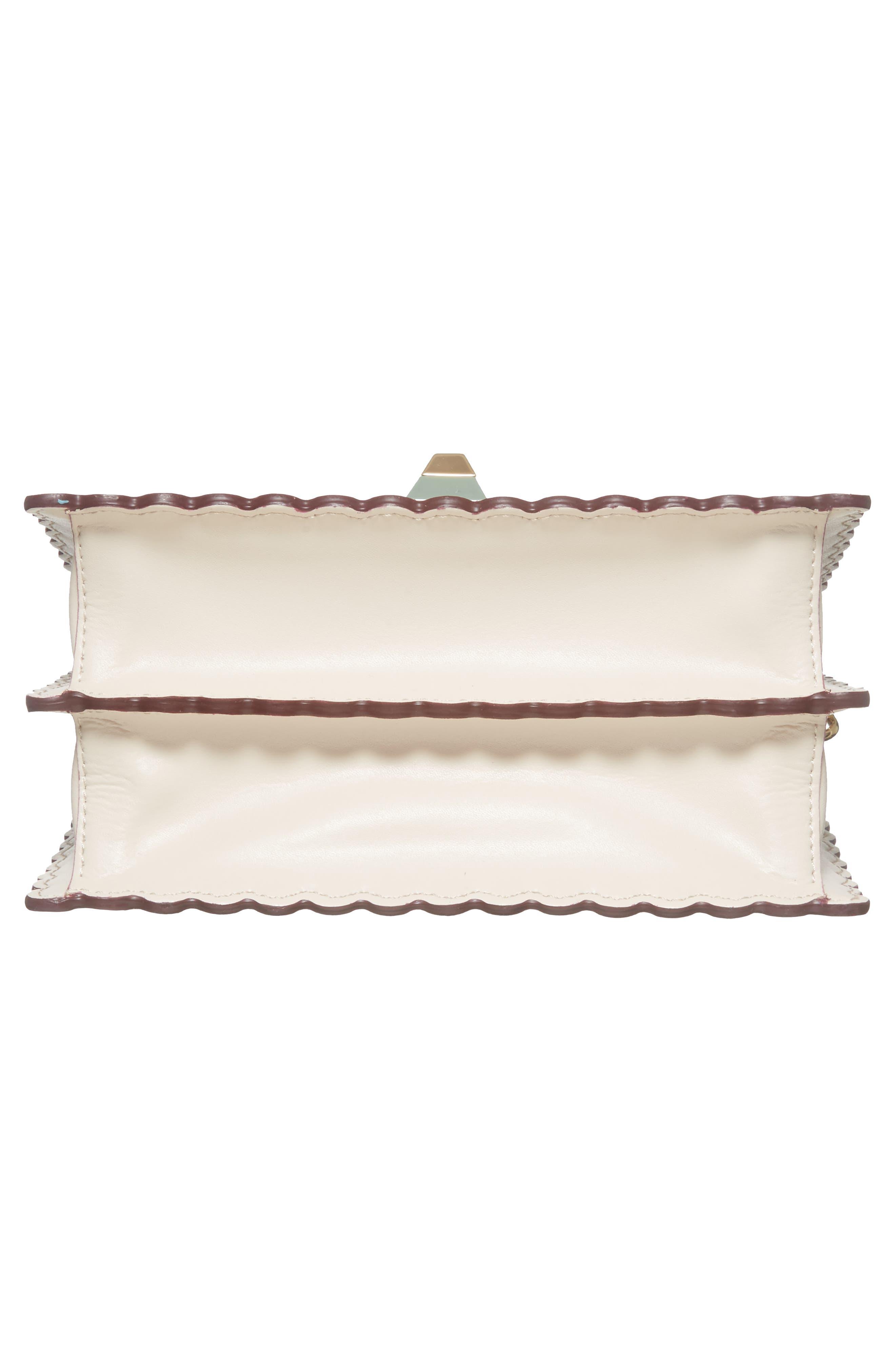 Alternate Image 5  - Fendi Mini Kan I Scalloped Leather Shoulder Bag