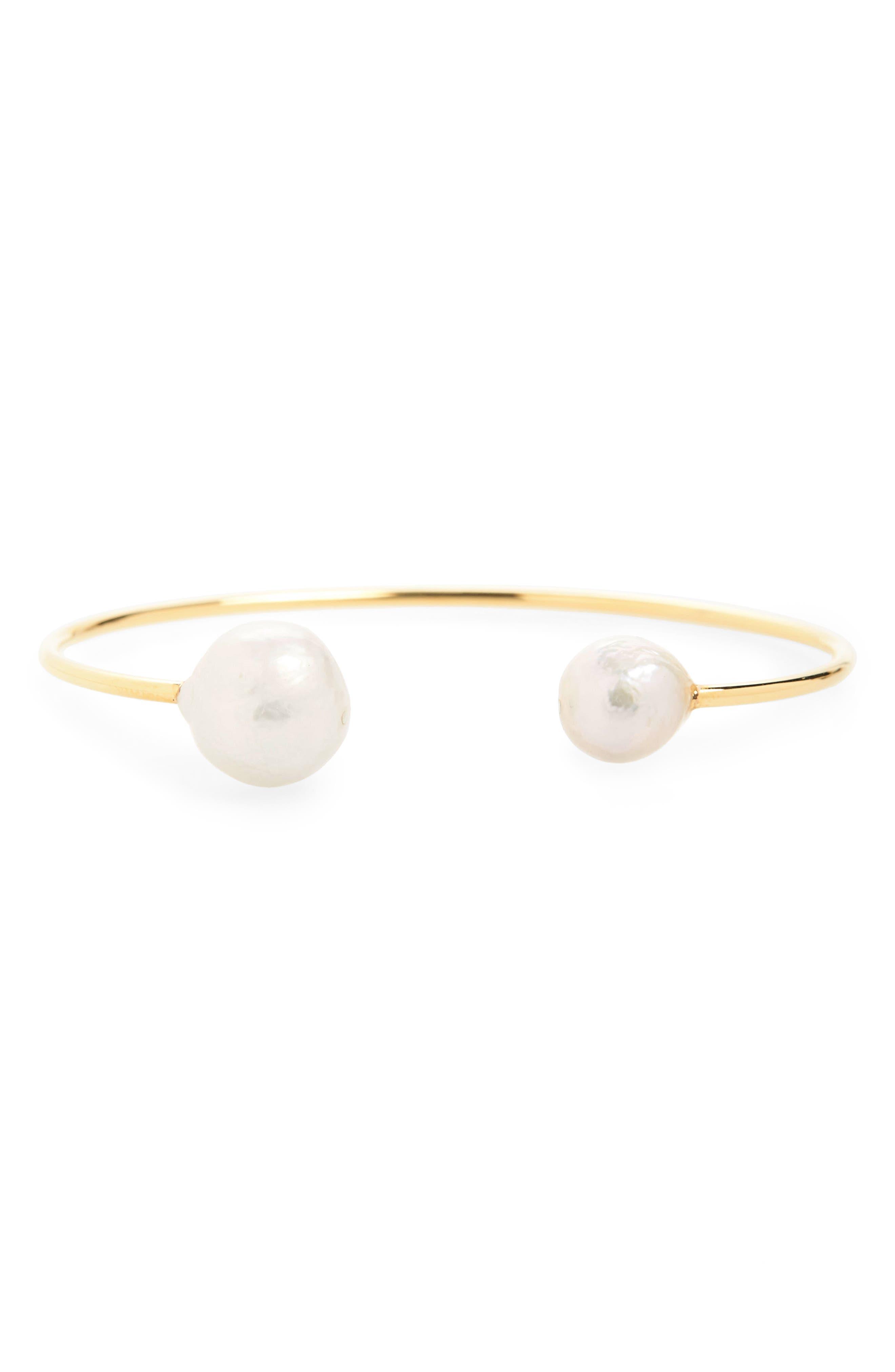 Chan Luu Cultured Peal Cuff Bracelet