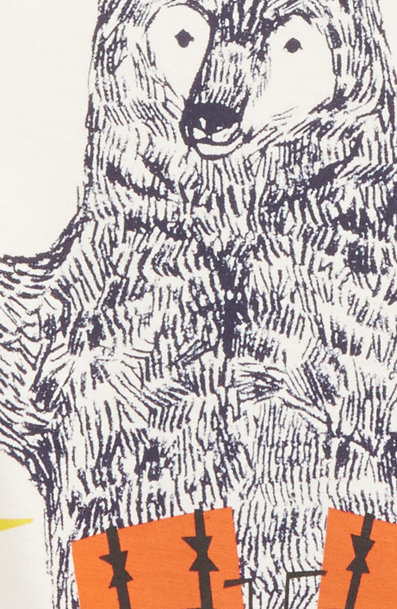 Alternate Image 2  - Tea Collection Backbeat Bear Layer T-Shirt (Toddler Boys & Little Boys)