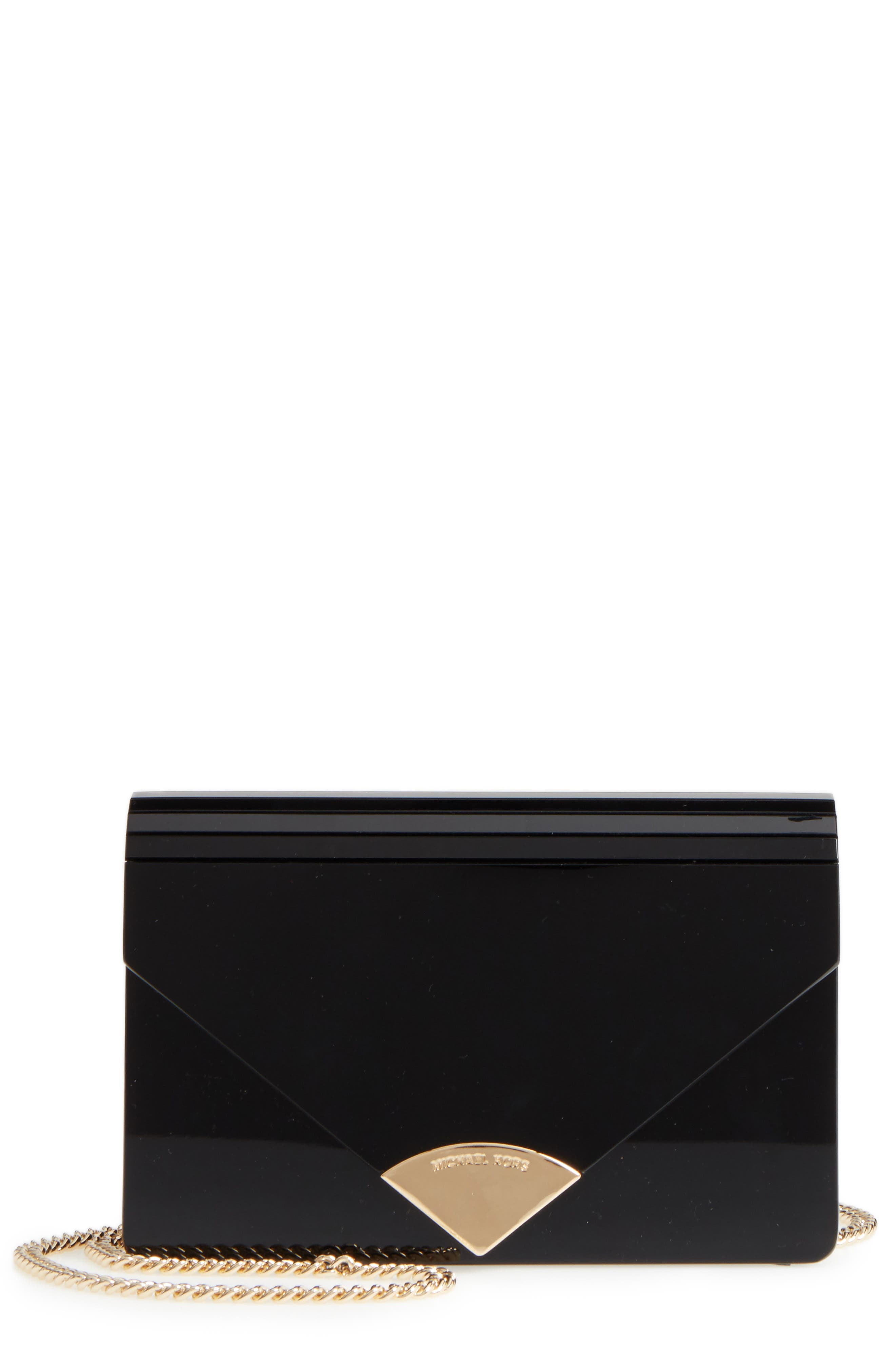 Michael Kors Medium Barbara Resin Envelope Clutch
