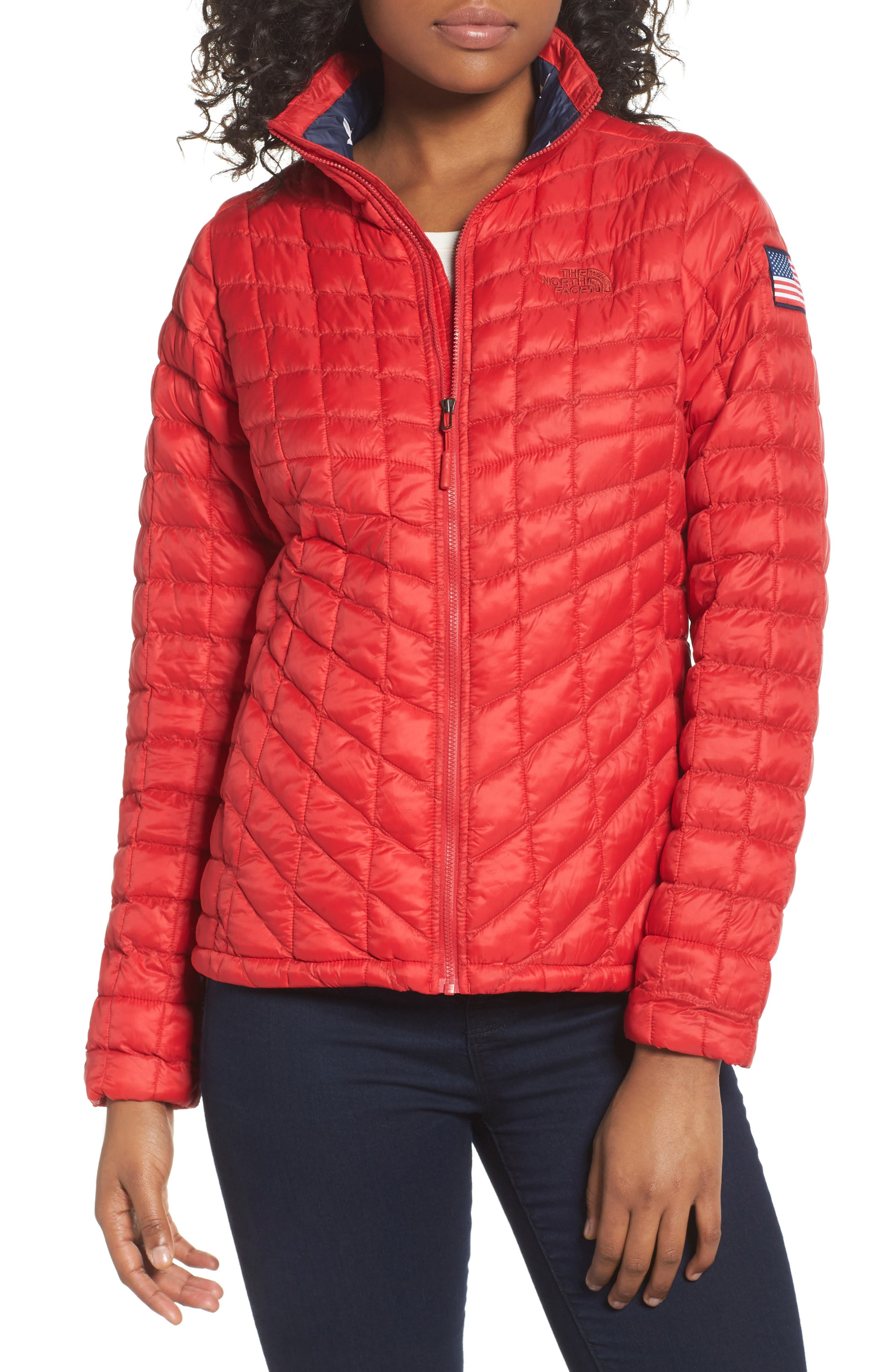 ThermoBall<sup>™</sup> PrimaLoft<sup>®</sup> Jacket,                             Main thumbnail 1, color,                             Tnf Red