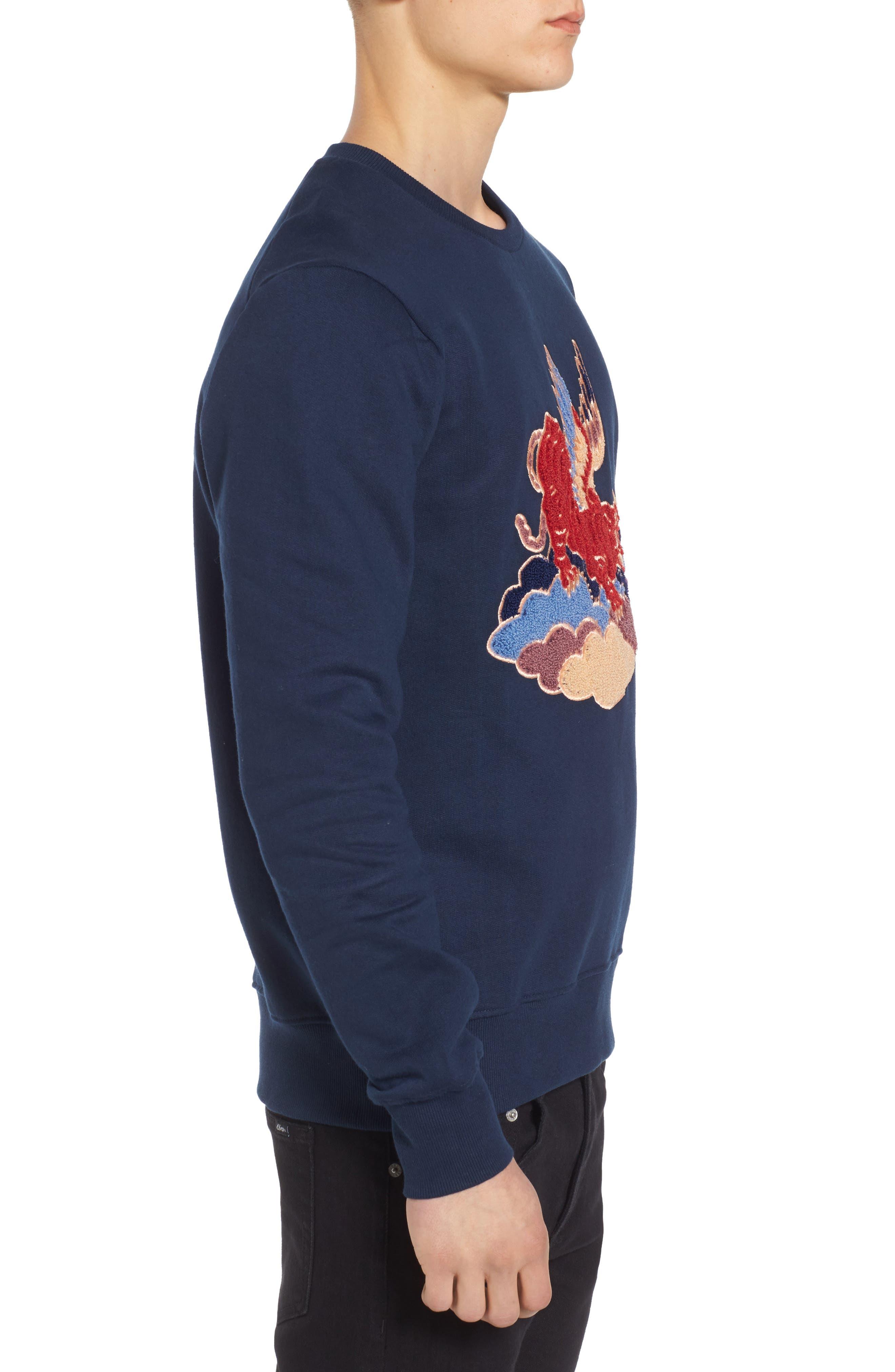 Alternate Image 3  - ELEVENPARIS Nokat Appliqué Sweatshirt