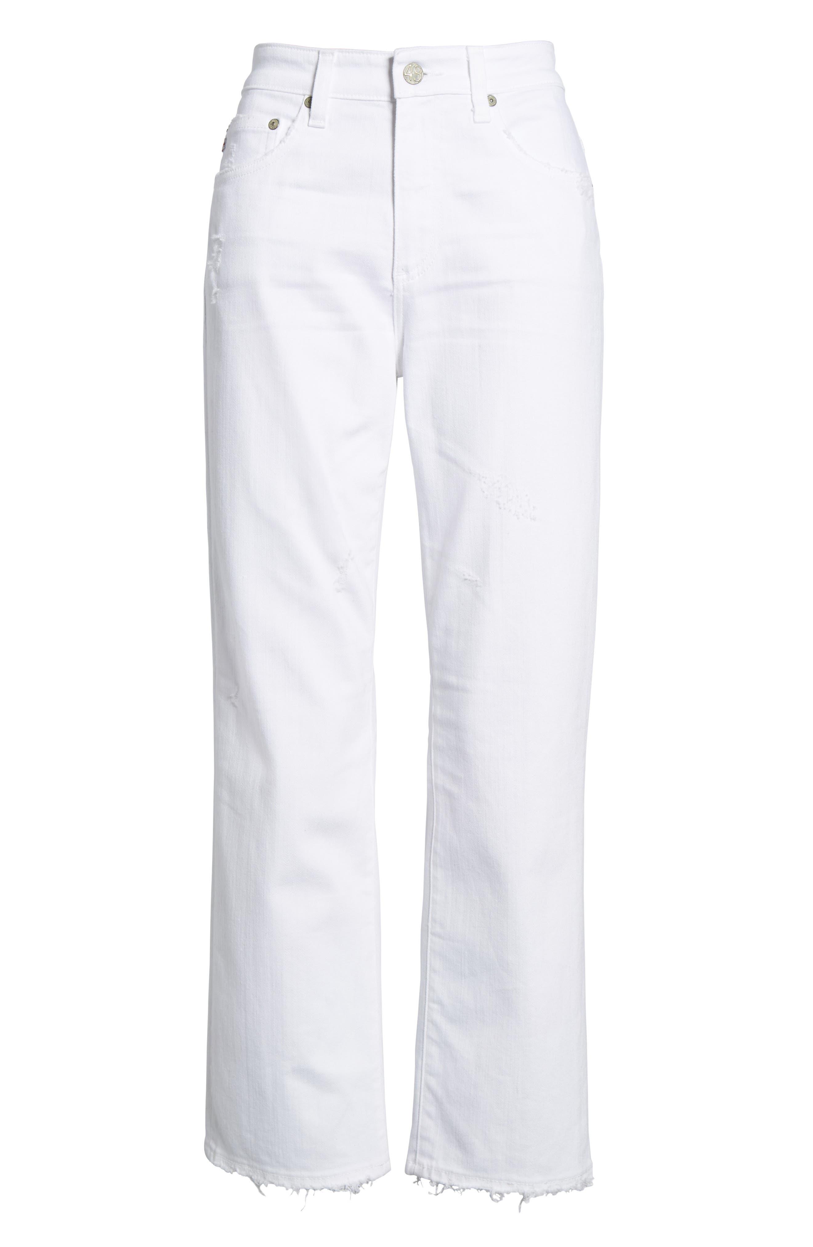 Alternate Image 6  - AG The Rhett High Waist Crop Jeans (2 Years Classic)