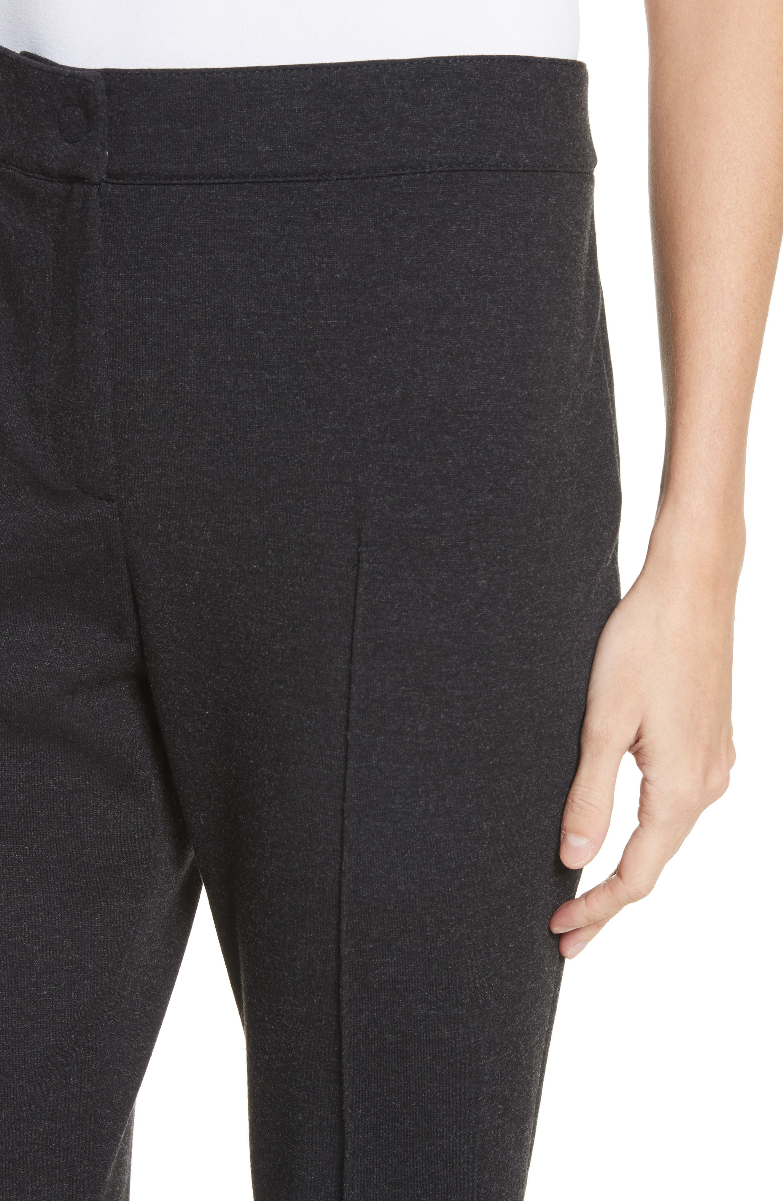 Jersey Pants,                             Alternate thumbnail 4, color,                             Charcoal