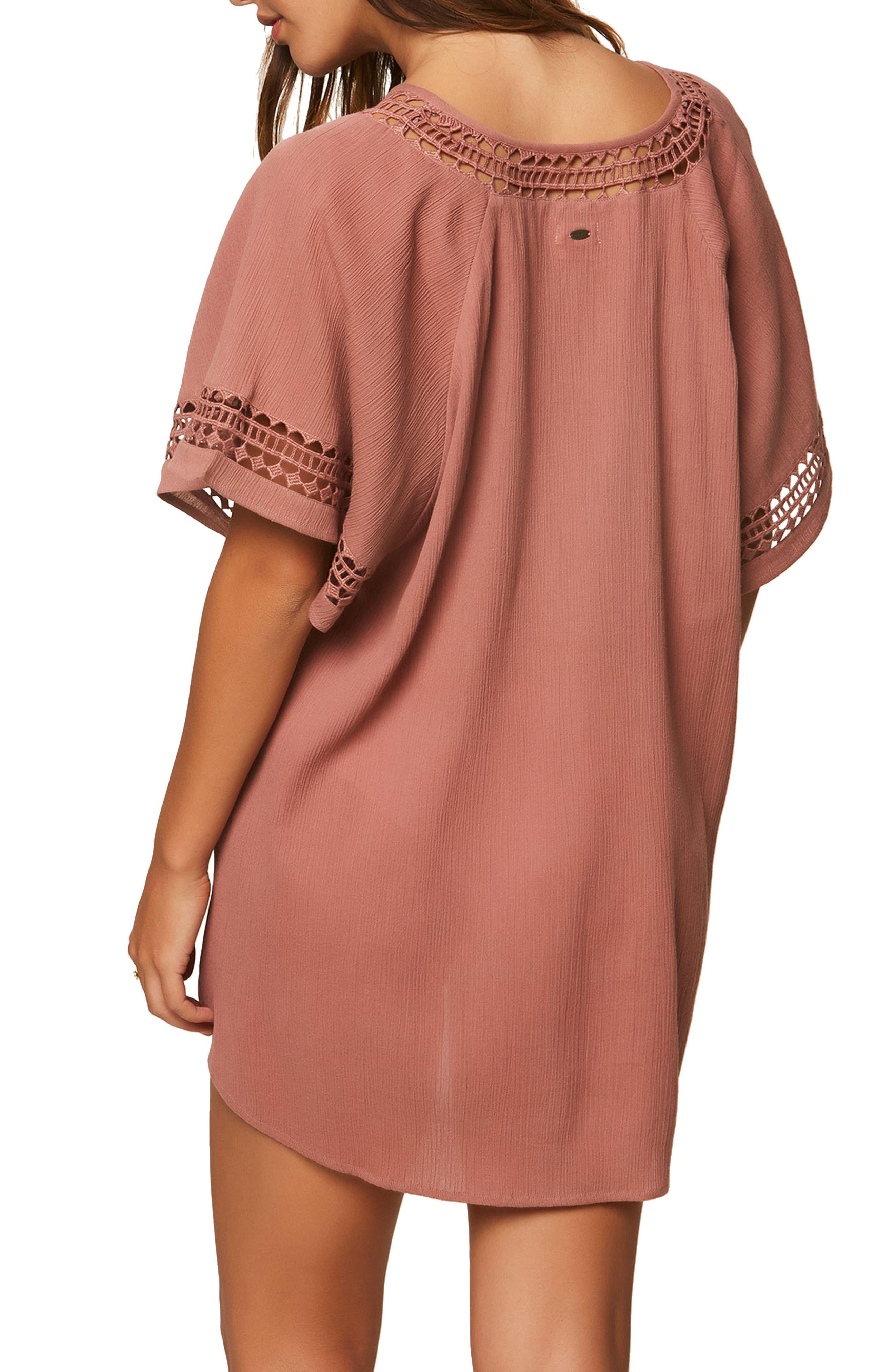 Celeste Cover-Up Dress,                             Alternate thumbnail 2, color,                             Carmel