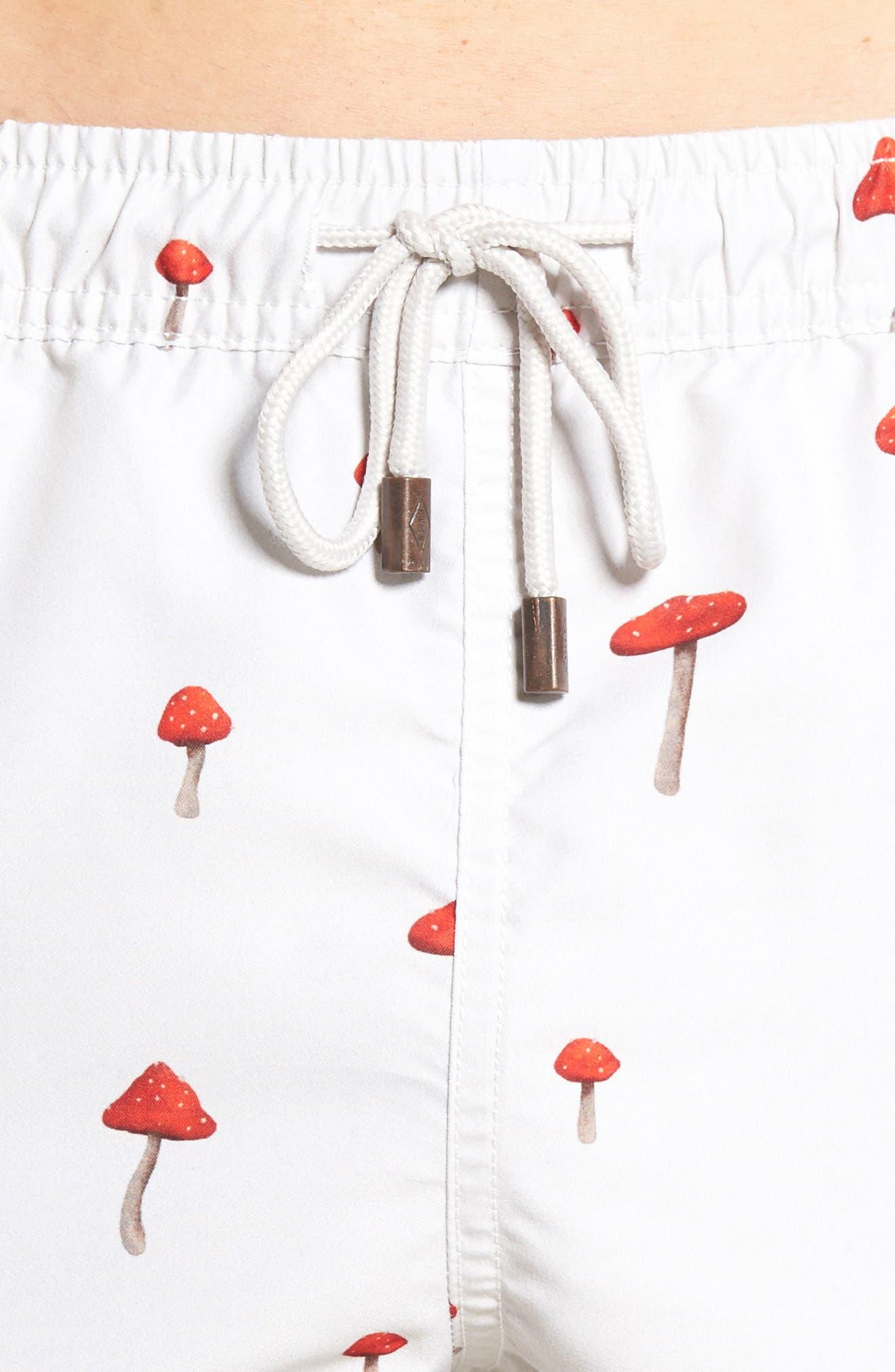 Moshi Moshi Board Shorts,                             Alternate thumbnail 4, color,                             Off White