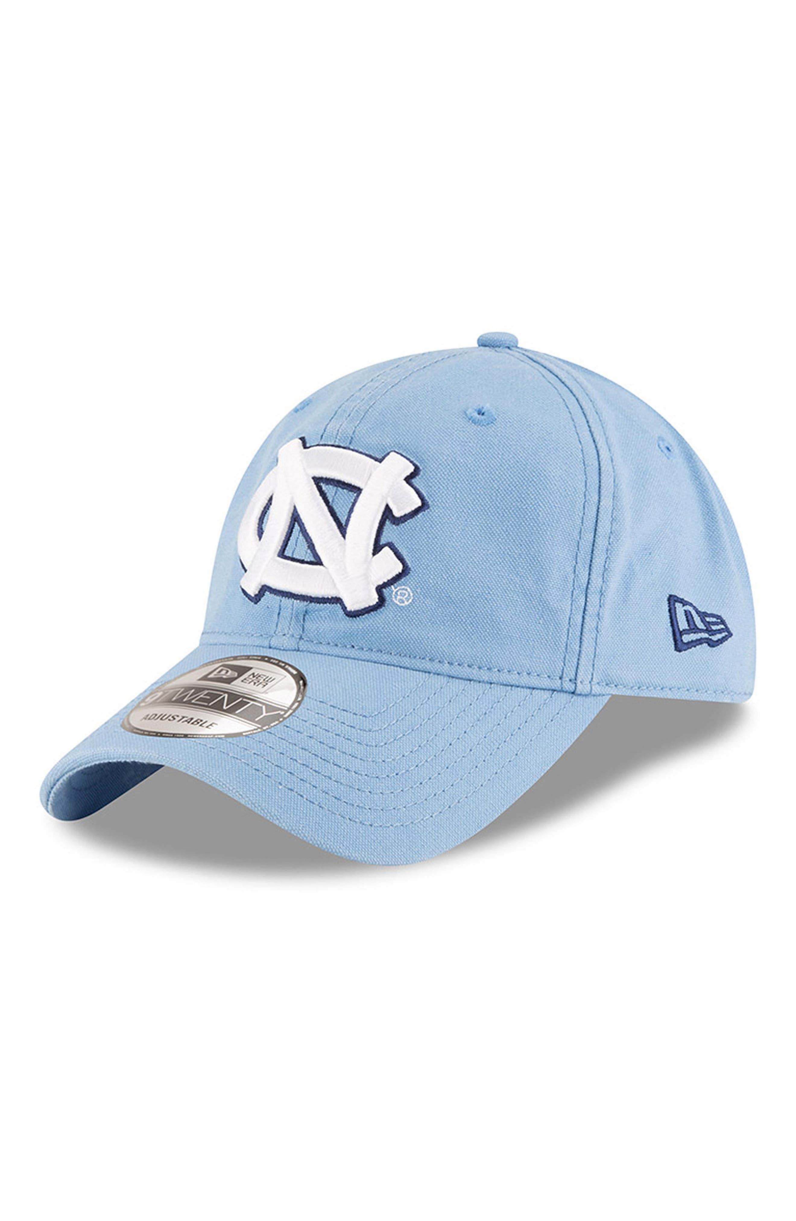 New Era Collegiate Core Classic - North Carolina Tar Heels Baseball Cap,                             Main thumbnail 1, color,                             North Carolina Tar Heels