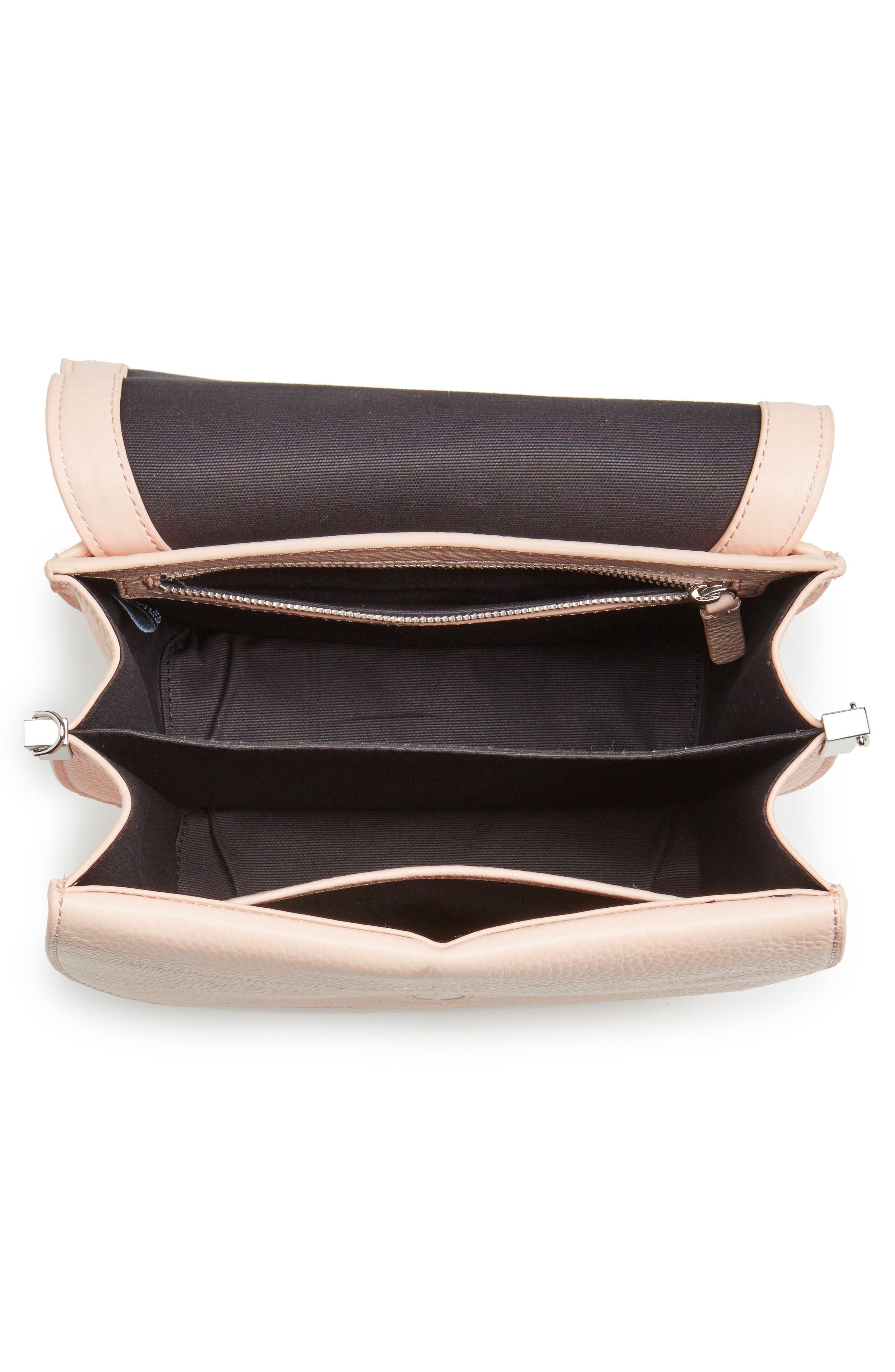 Alternate Image 4  - Steven Alan Landon Leather Crossbody Saddle Bag