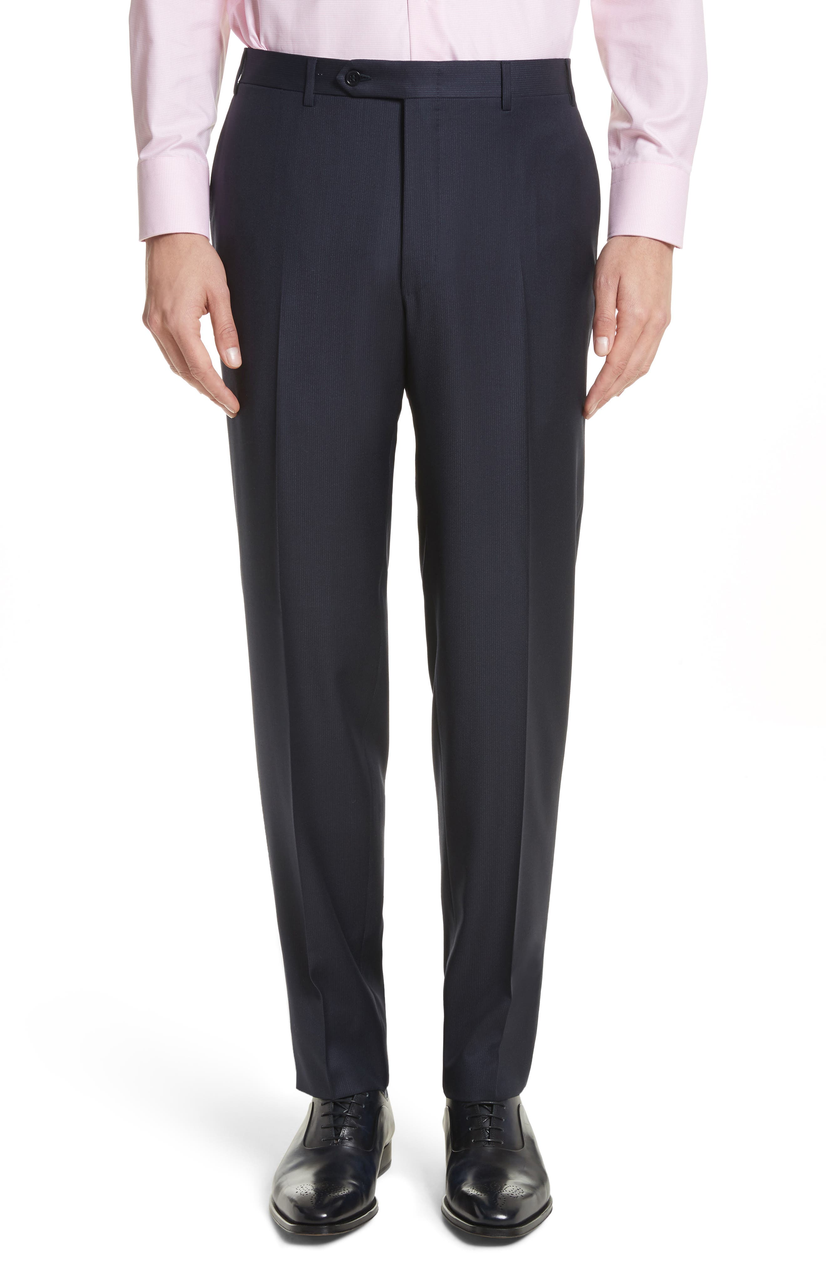 Alternate Image 6  - Canali Classic Fit Stripe Wool Suit