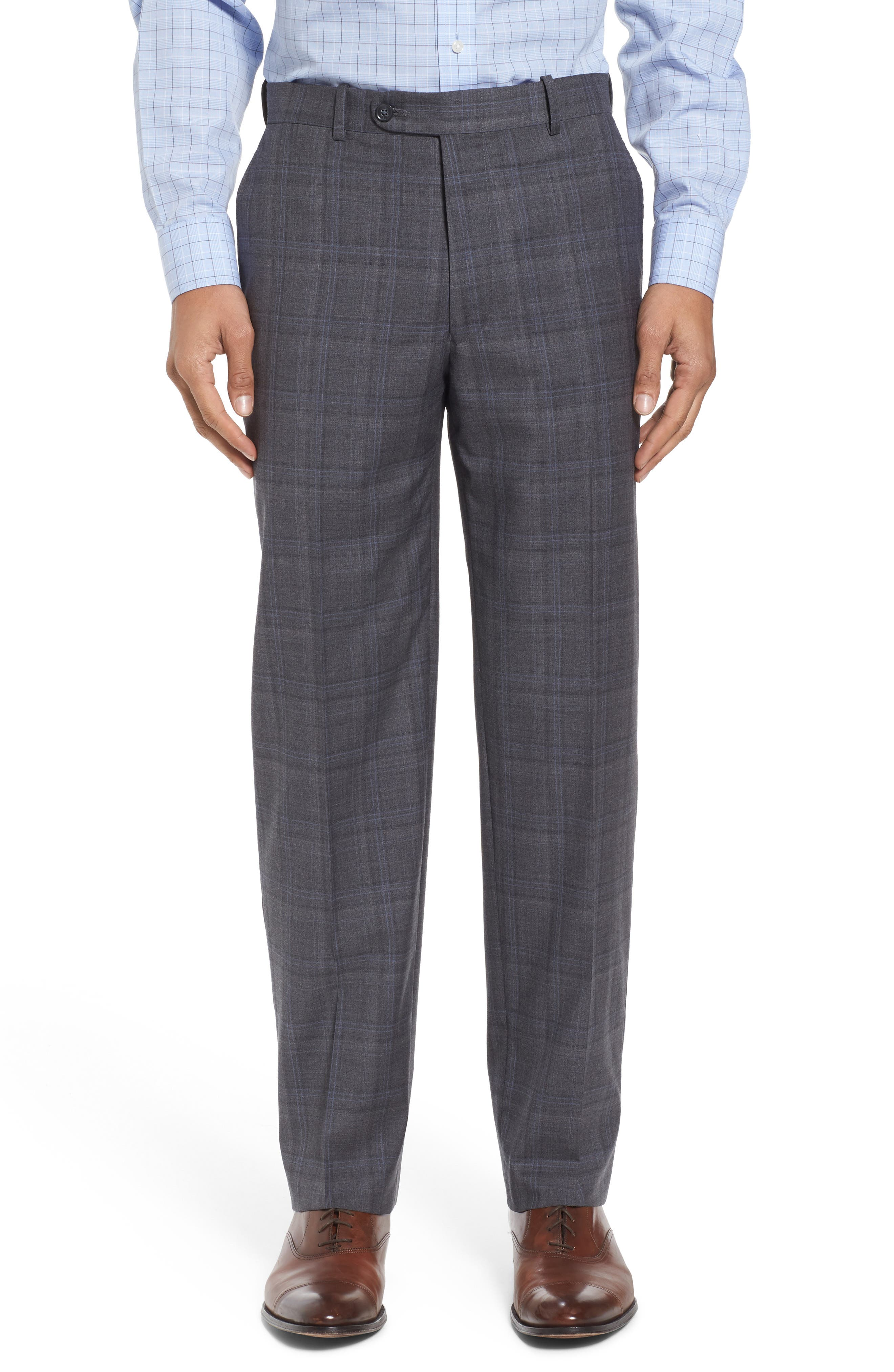 Alternate Image 6  - Peter Millar Classic Fit Plaid Wool Suit