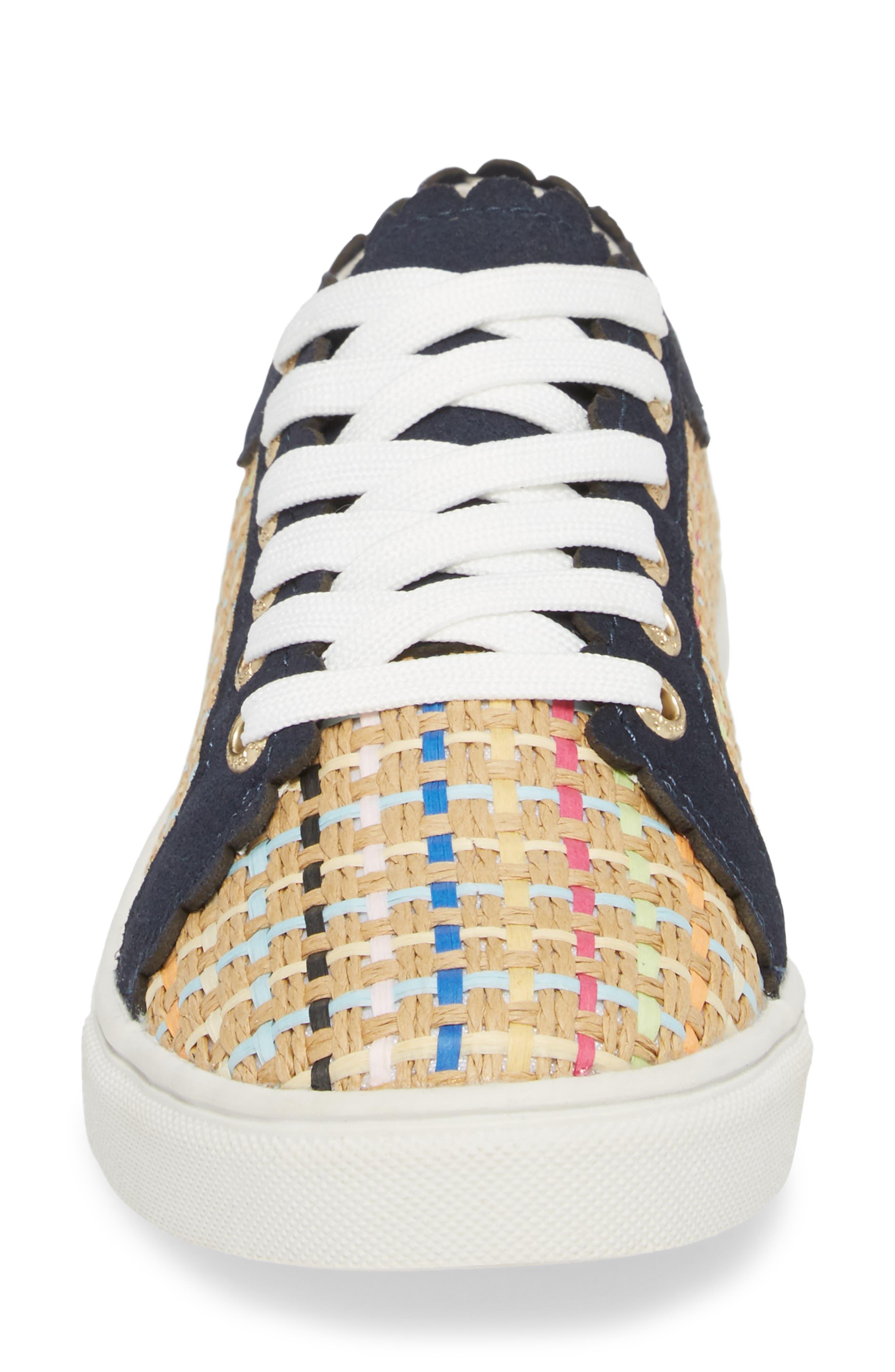 Teagan Sneaker,                             Alternate thumbnail 4, color,                             Multi Combo