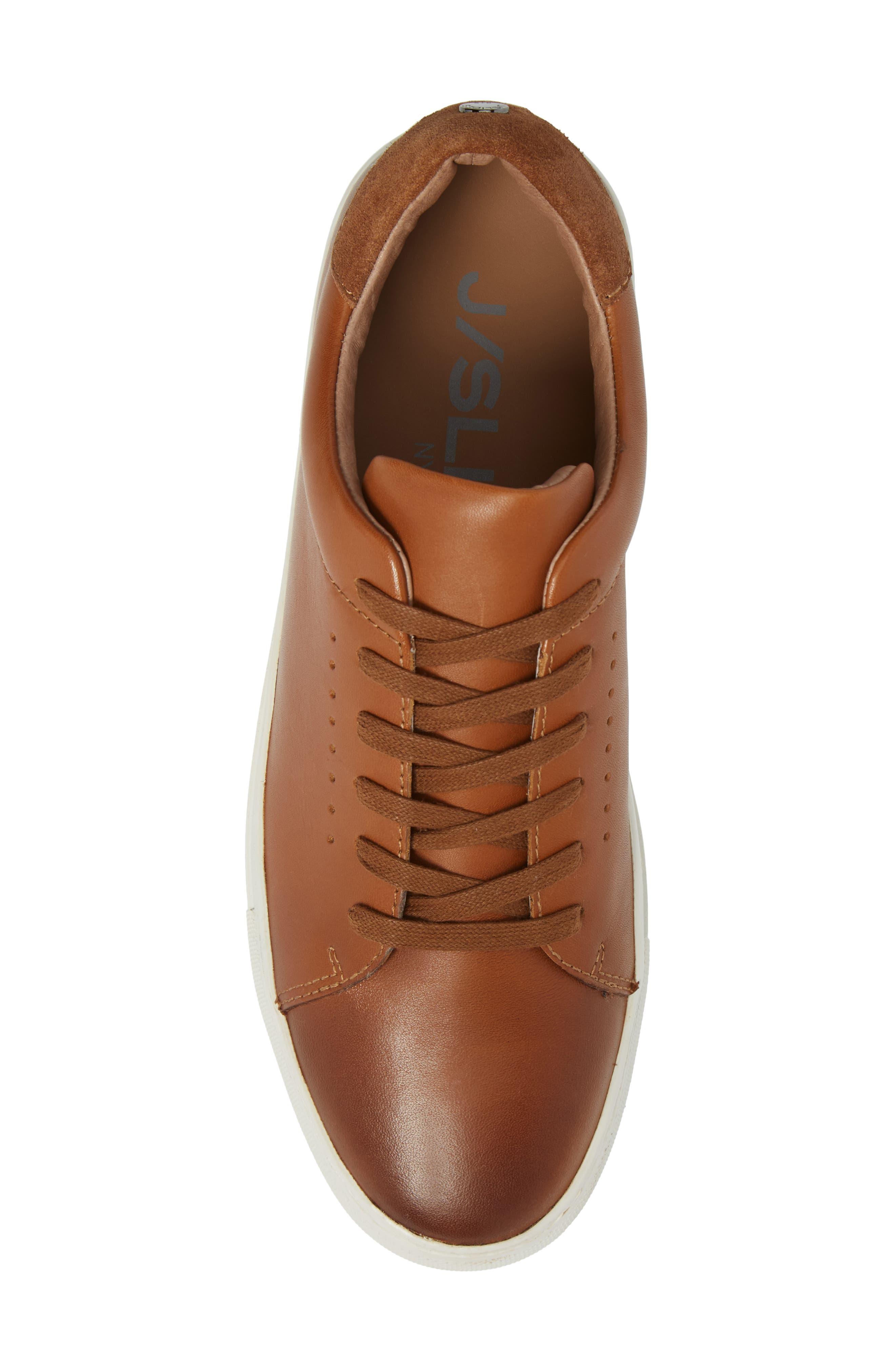 Desmond Sneaker,                             Alternate thumbnail 5, color,                             Tan Leather