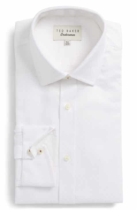 7529be62a Ted Baker London Catria Trim Fit Geometric Dress Shirt