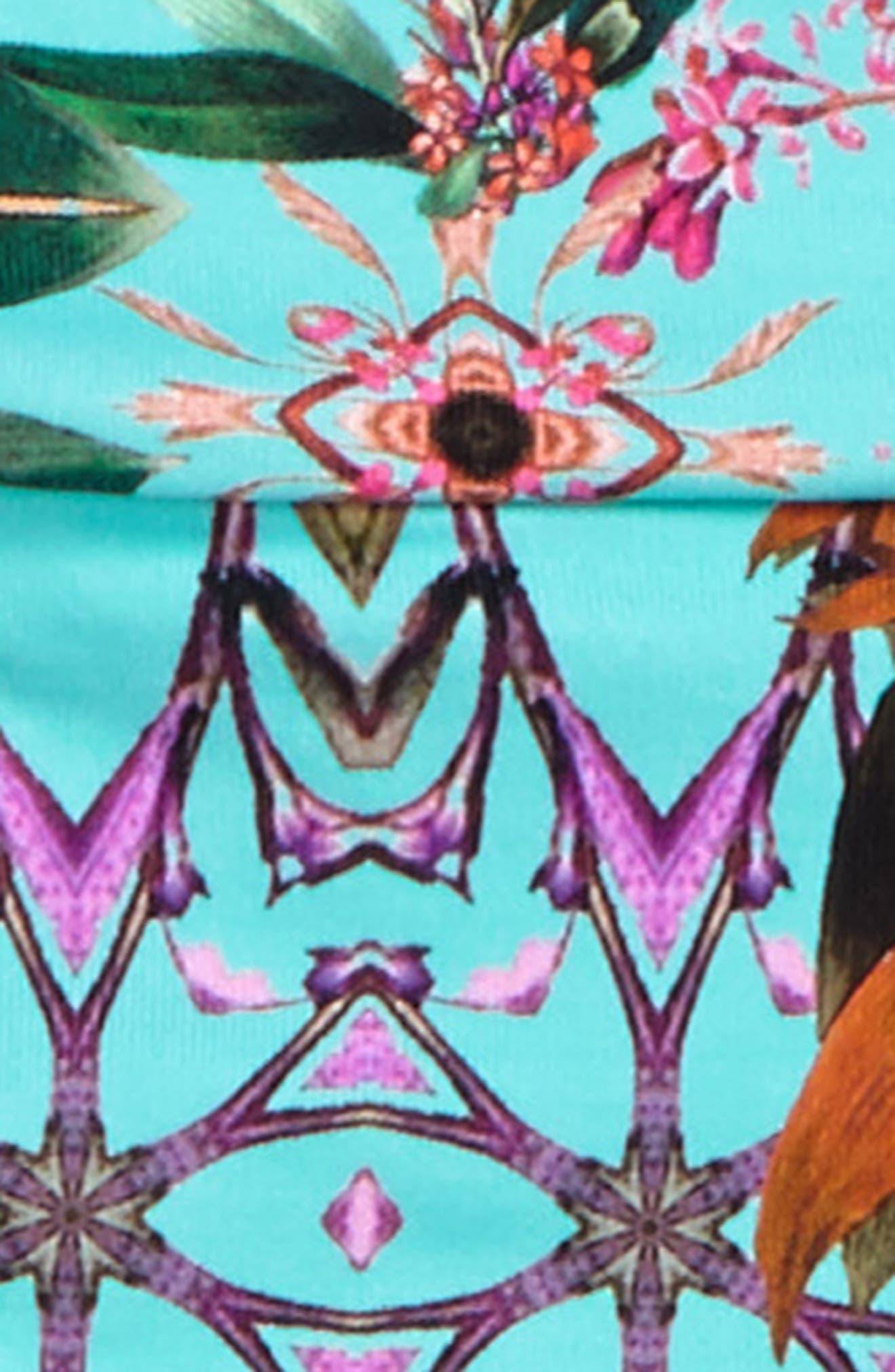Alternate Image 2  - OndadeMar Amazonia Two-Piece Swimsuit (Little Girls & Big Girls)