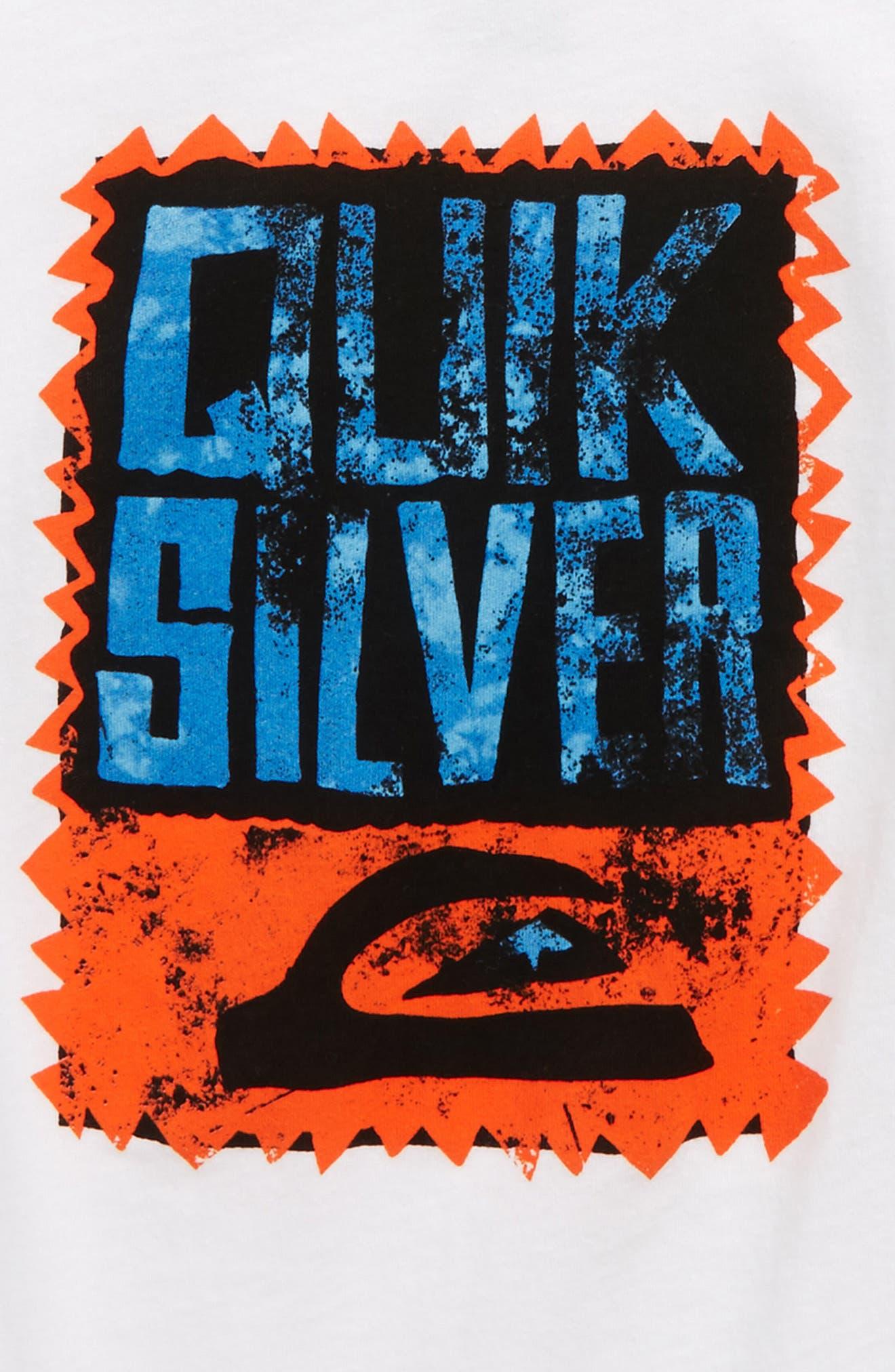 Alternate Image 2  - Quiksilver Awaken The Vibe Graphic T-Shirt (Toddler Boys & Little Boys)