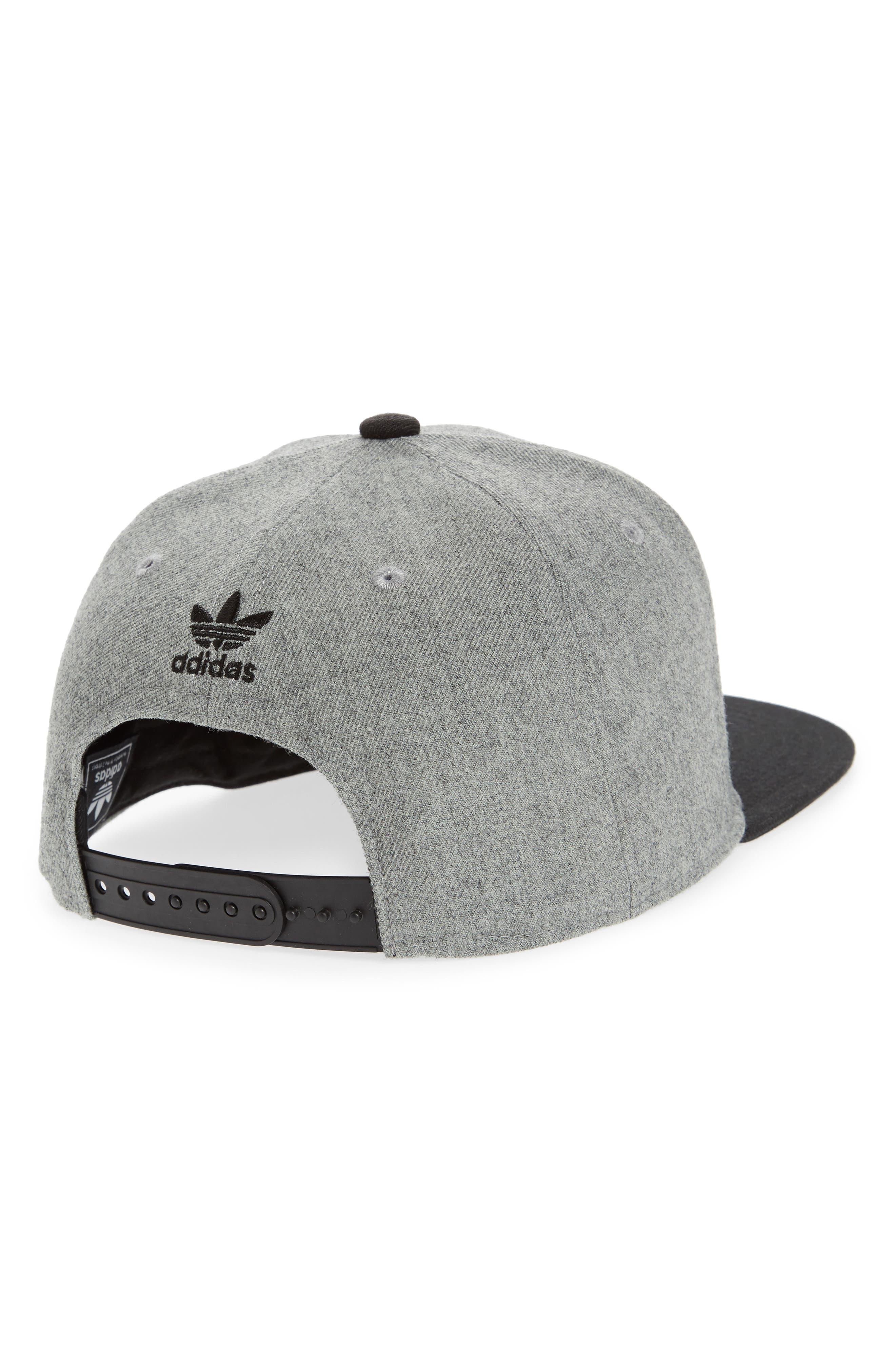Alternate Image 2  - adidas Originals Trefoil Chain Snapback Baseball Cap