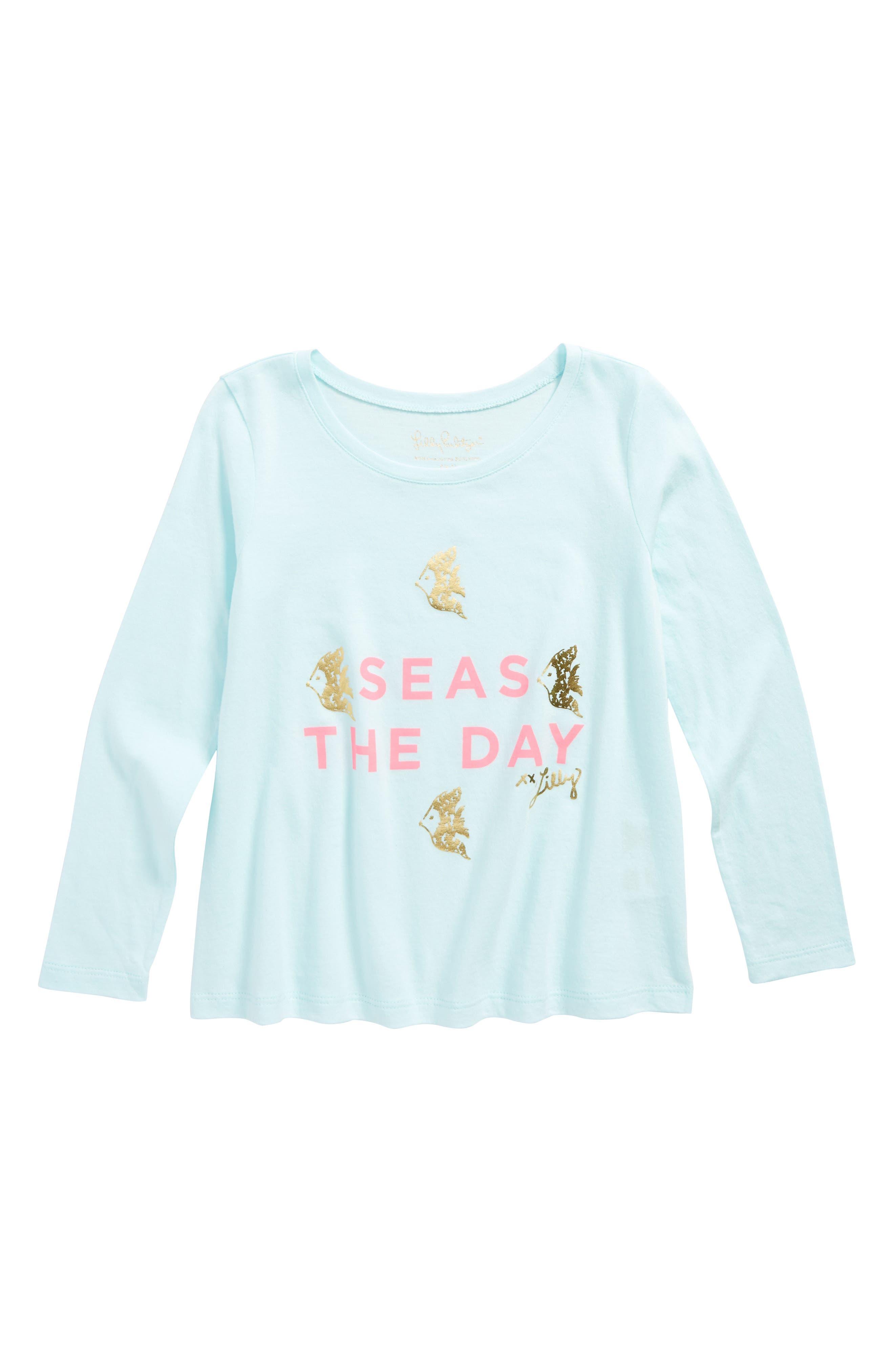 Main Image - Lilly Pulitzer® Kay Graphic Tee (Toddler Girls, Little Girls & Big Girls)