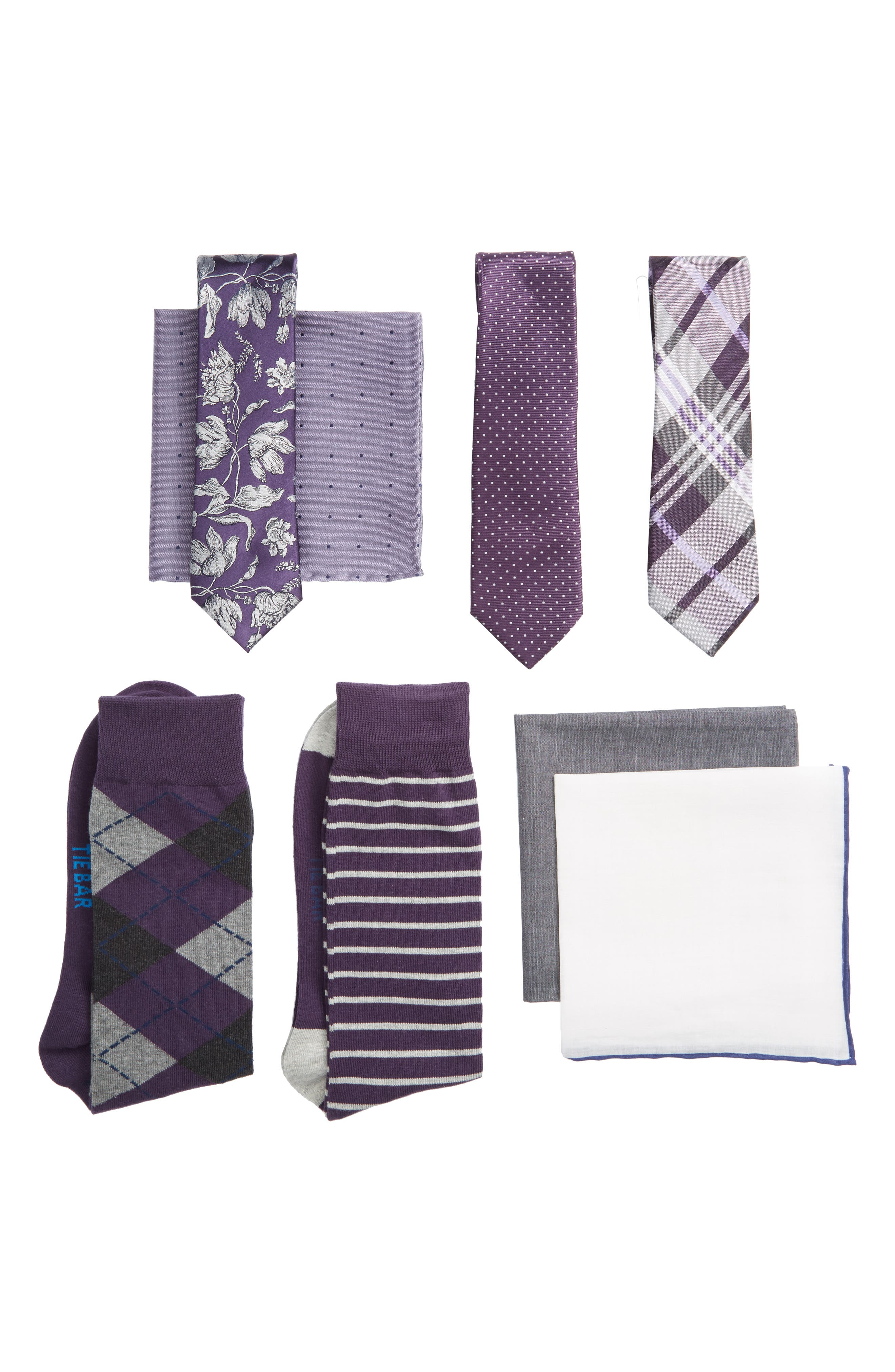 The Tie Bar Large Eggplant Style Box