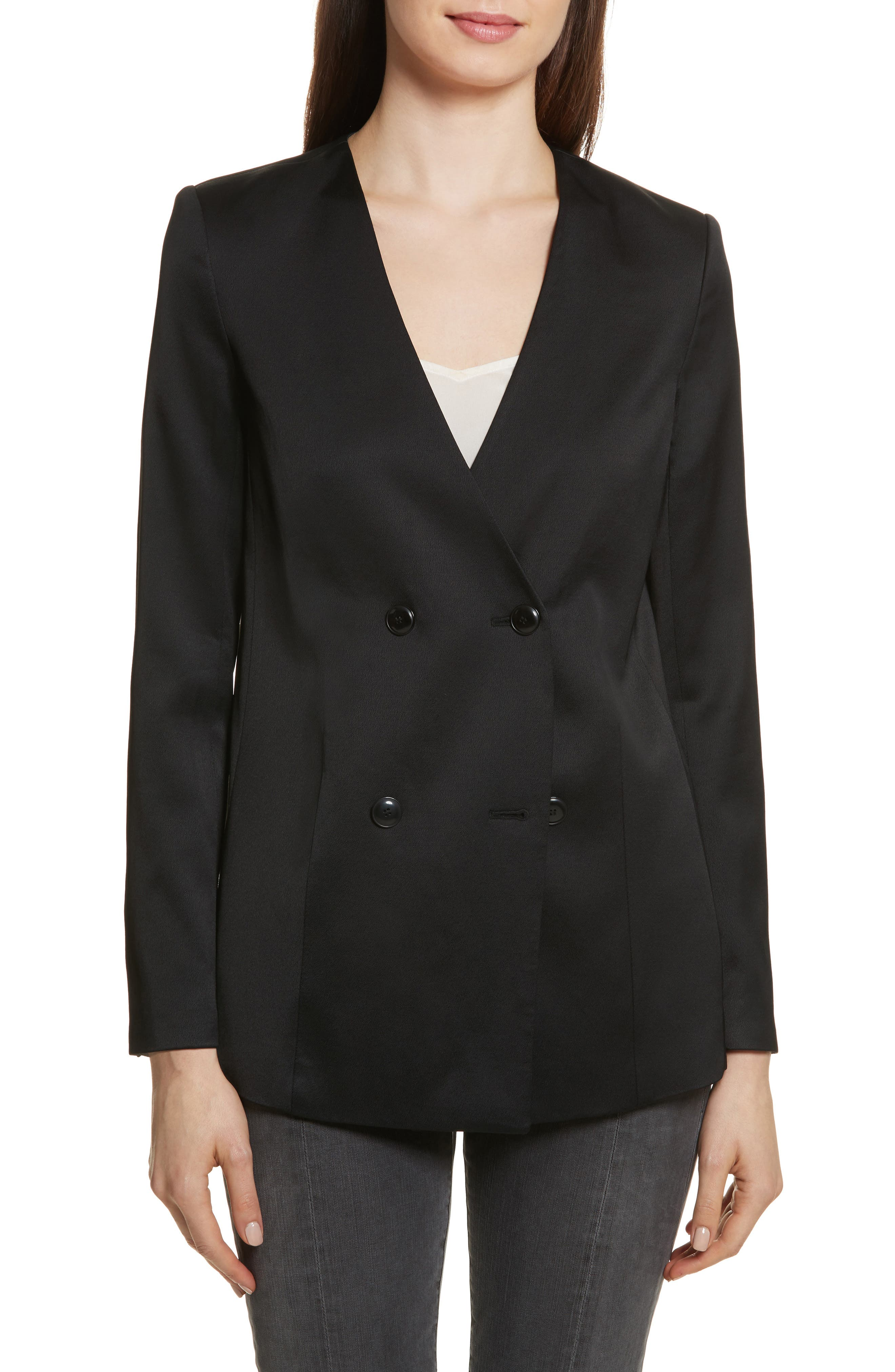 Main Image - FRAME Double-Breasted Blazer