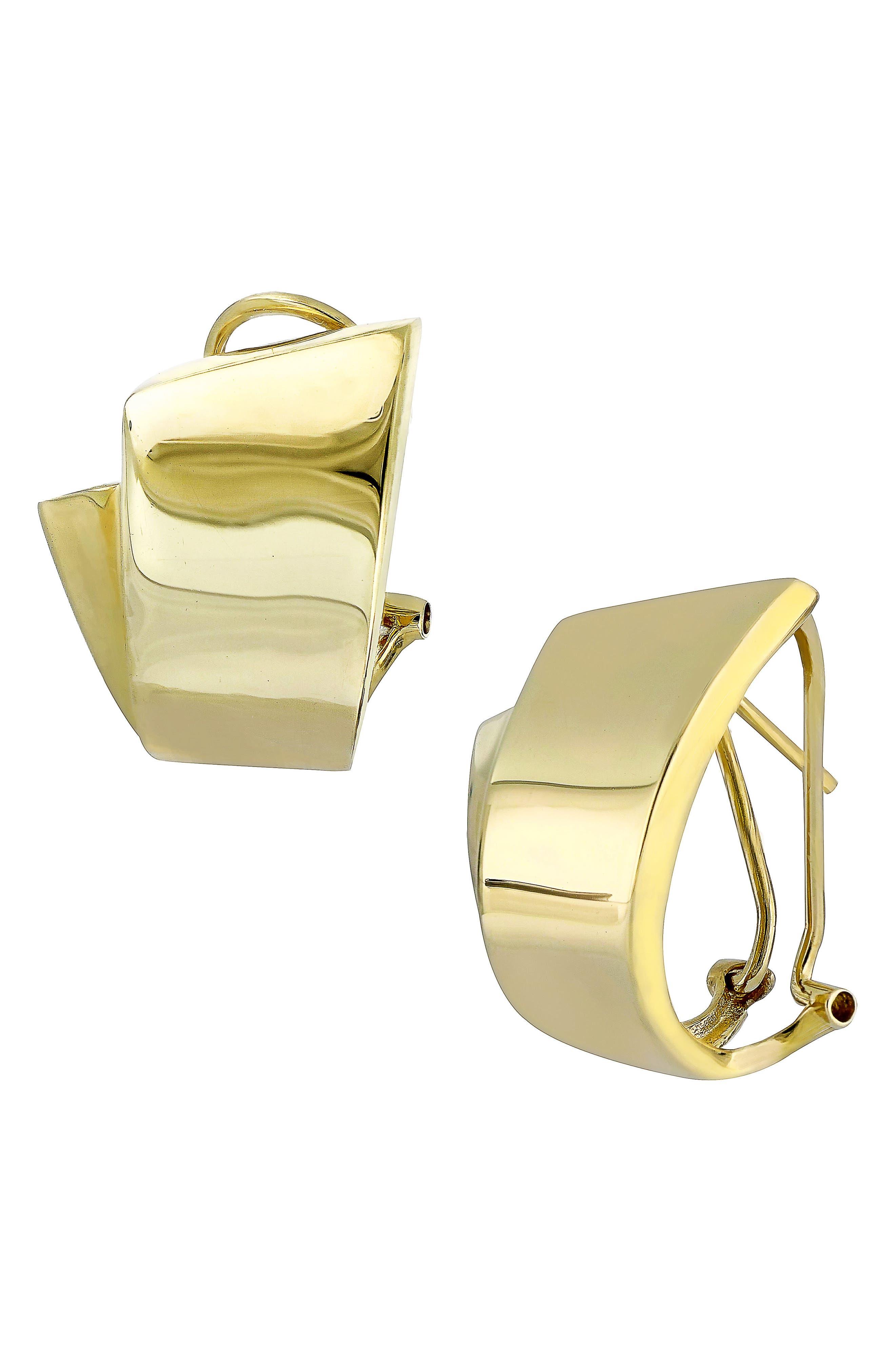 Main Image - Bony Levy Hoop Earrings (Nordstrom Exclusive)