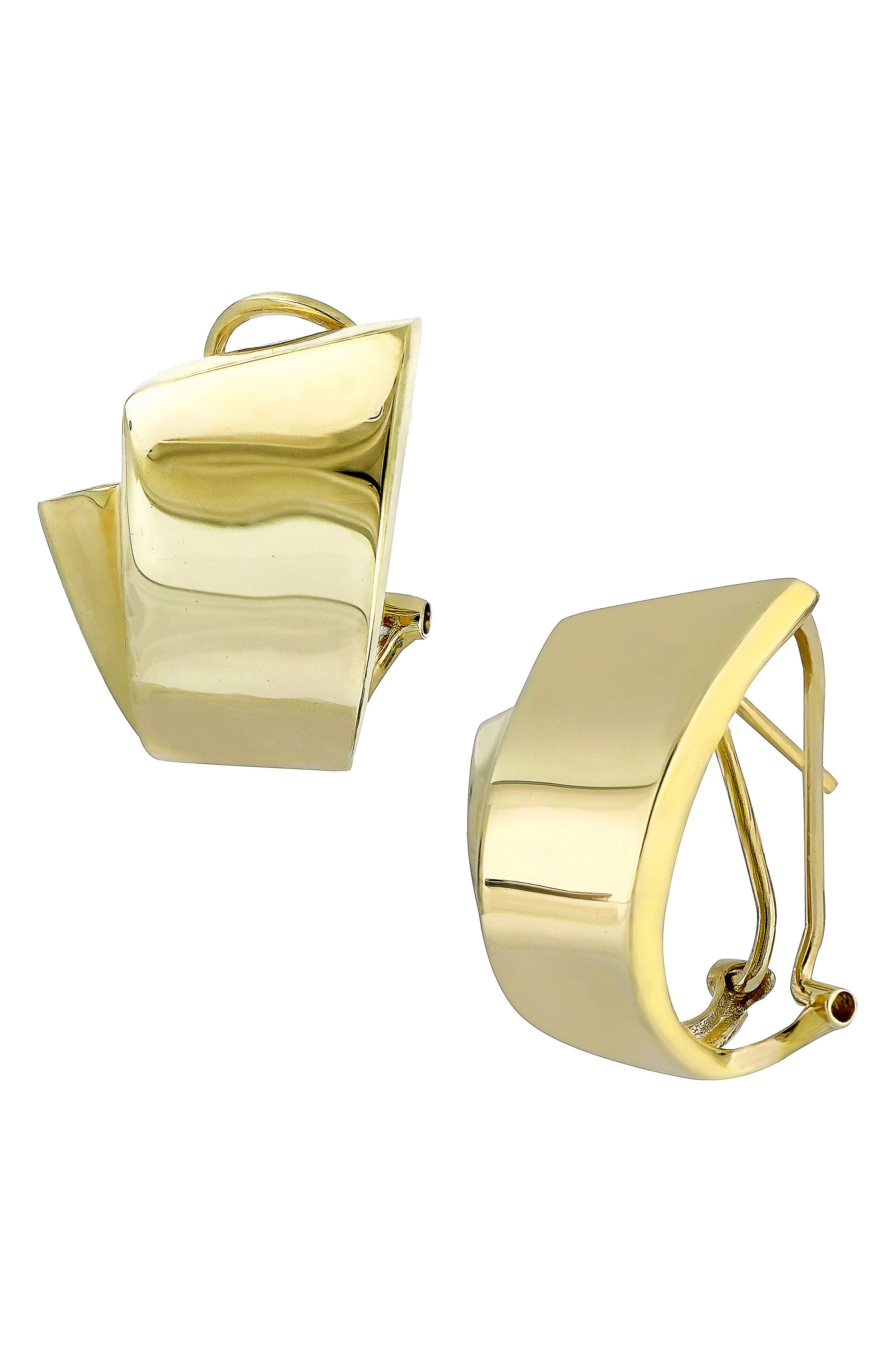 Hoop Earrings,                         Main,                         color, Yellow Gold