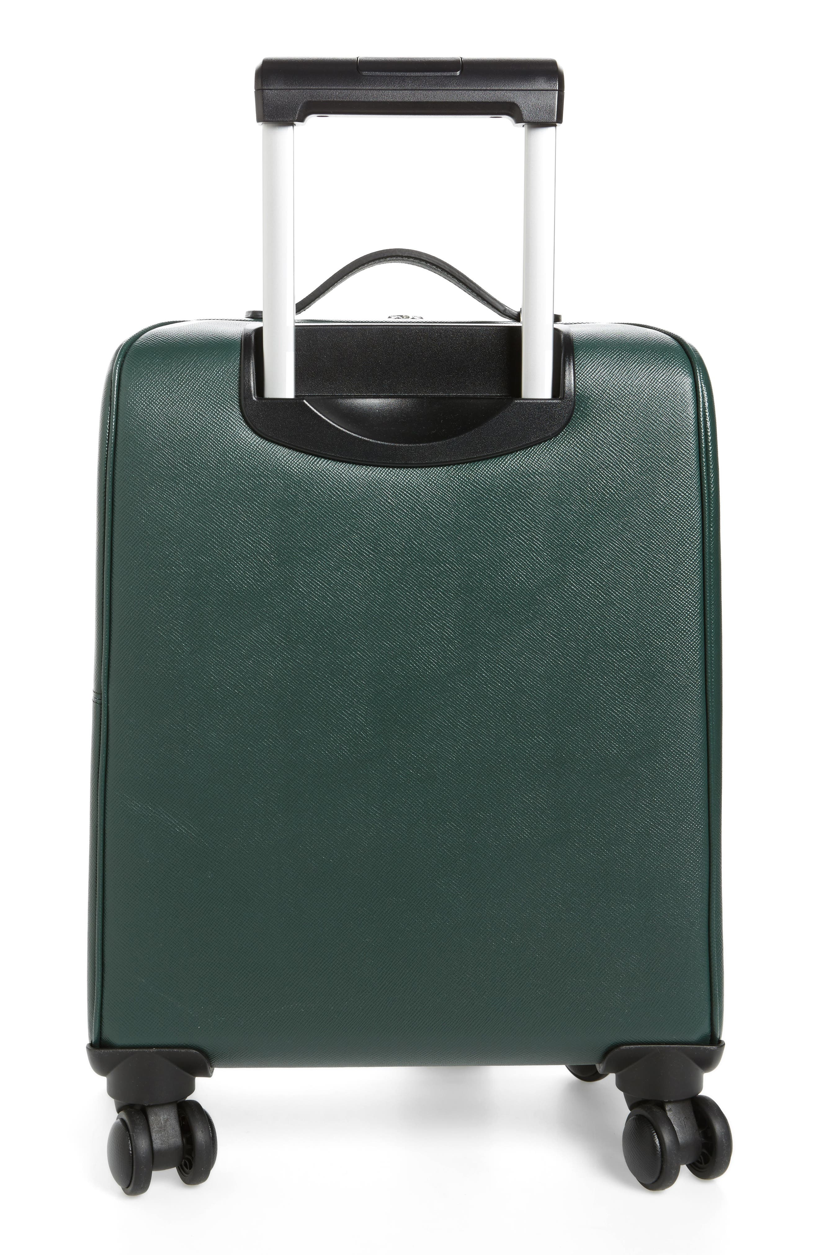Alternate Image 4  - Serapian Milano Trolley Spinner Wheeled Carry-On Suitcase