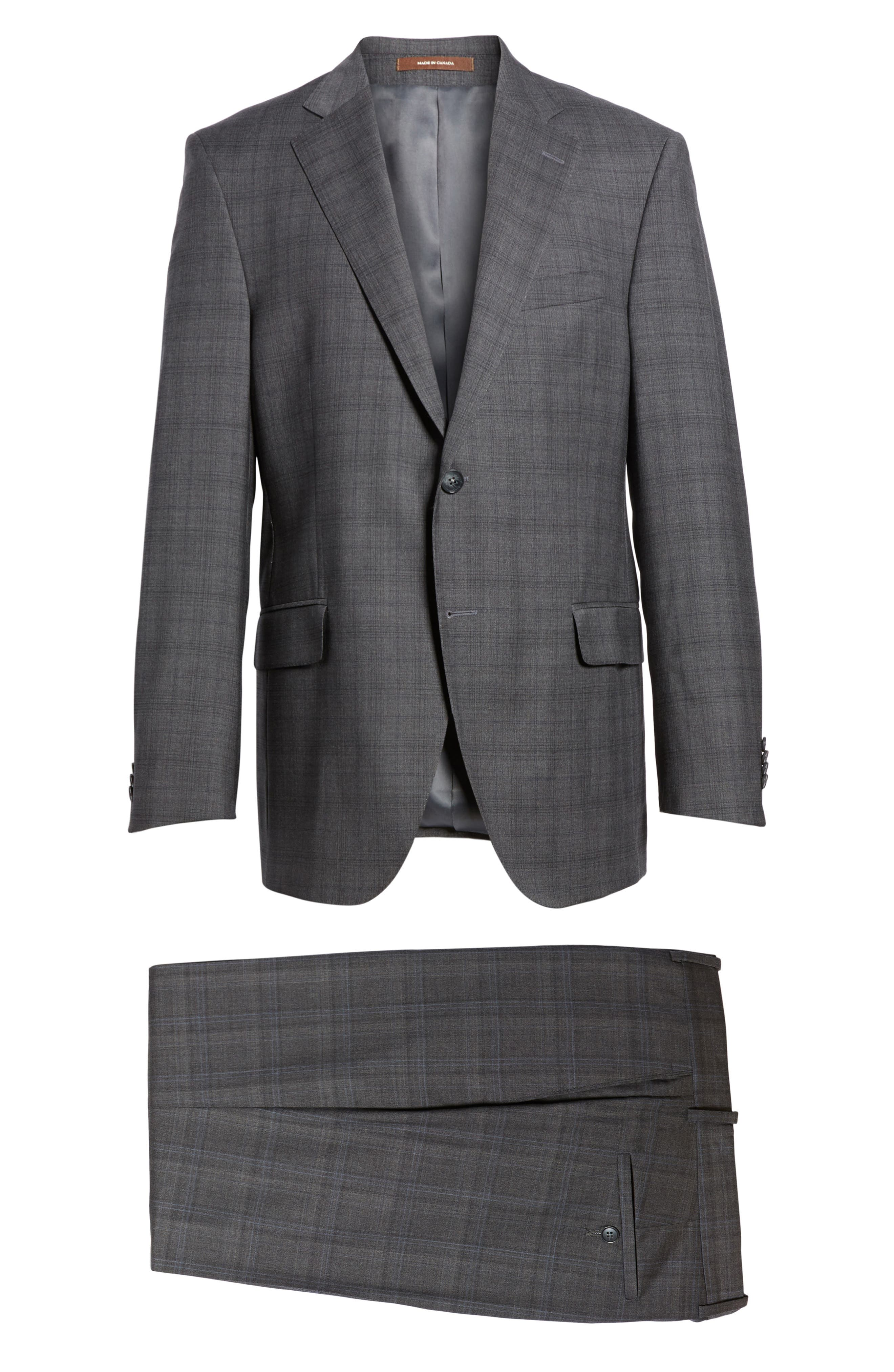 Alternate Image 8  - Peter Millar Classic Fit Plaid Wool Suit
