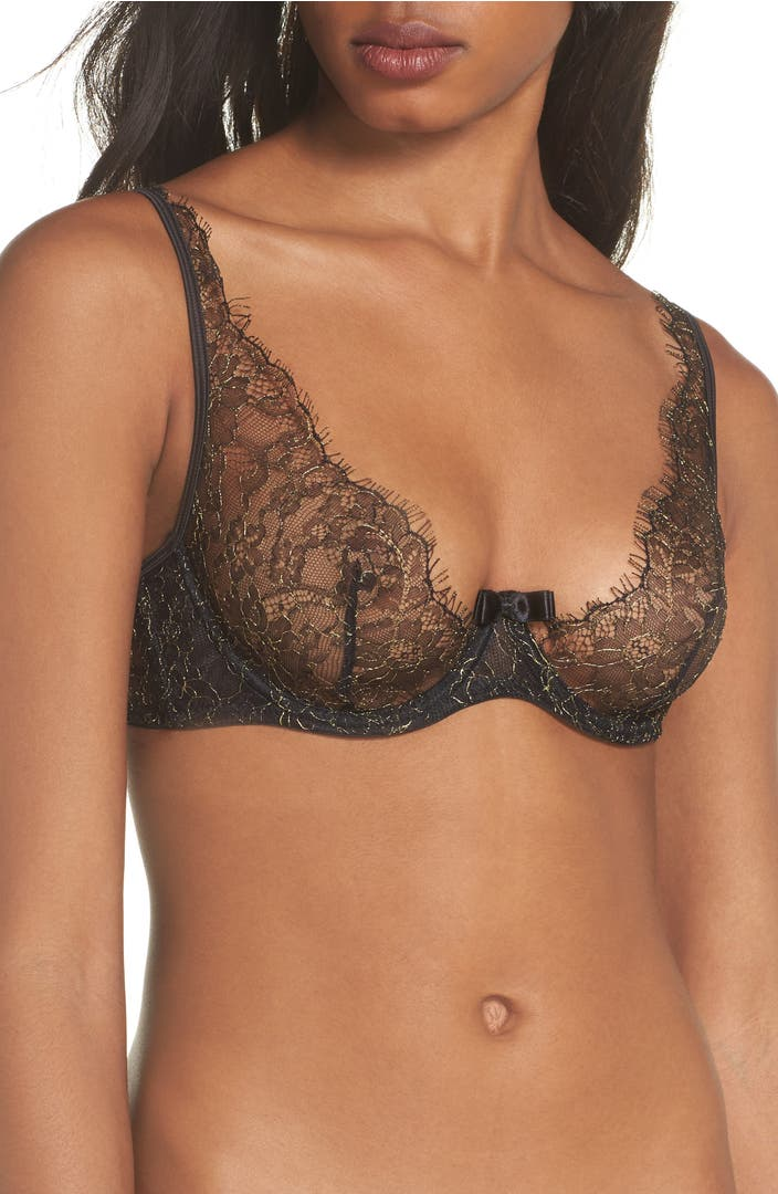 Maison close jardin imperial underwire balconette bra for Maison jardin
