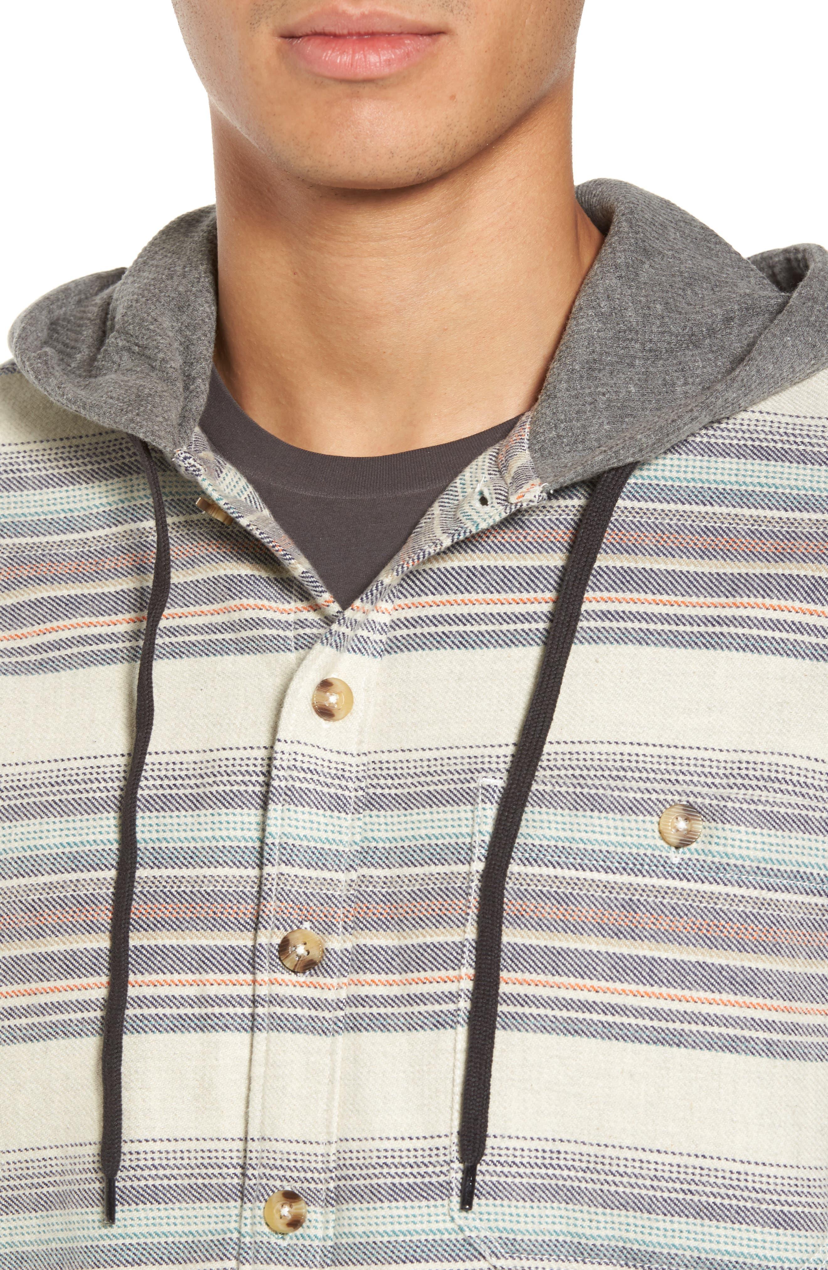 Alternate Image 4  - Billabong Baja Flannel Hoodie