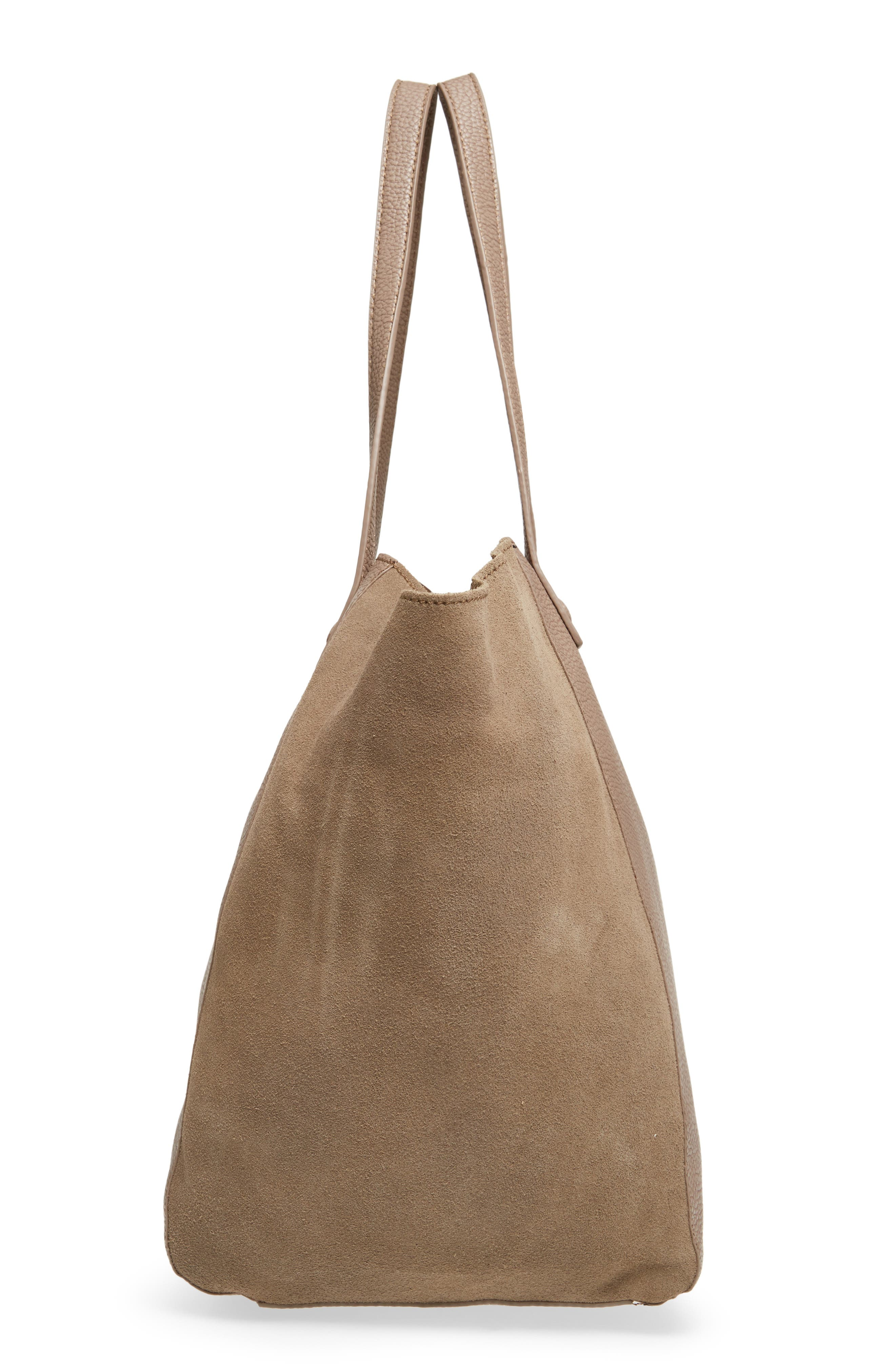 Alternate Image 5  - Sole Society Wesley Slouchy Suede Tote